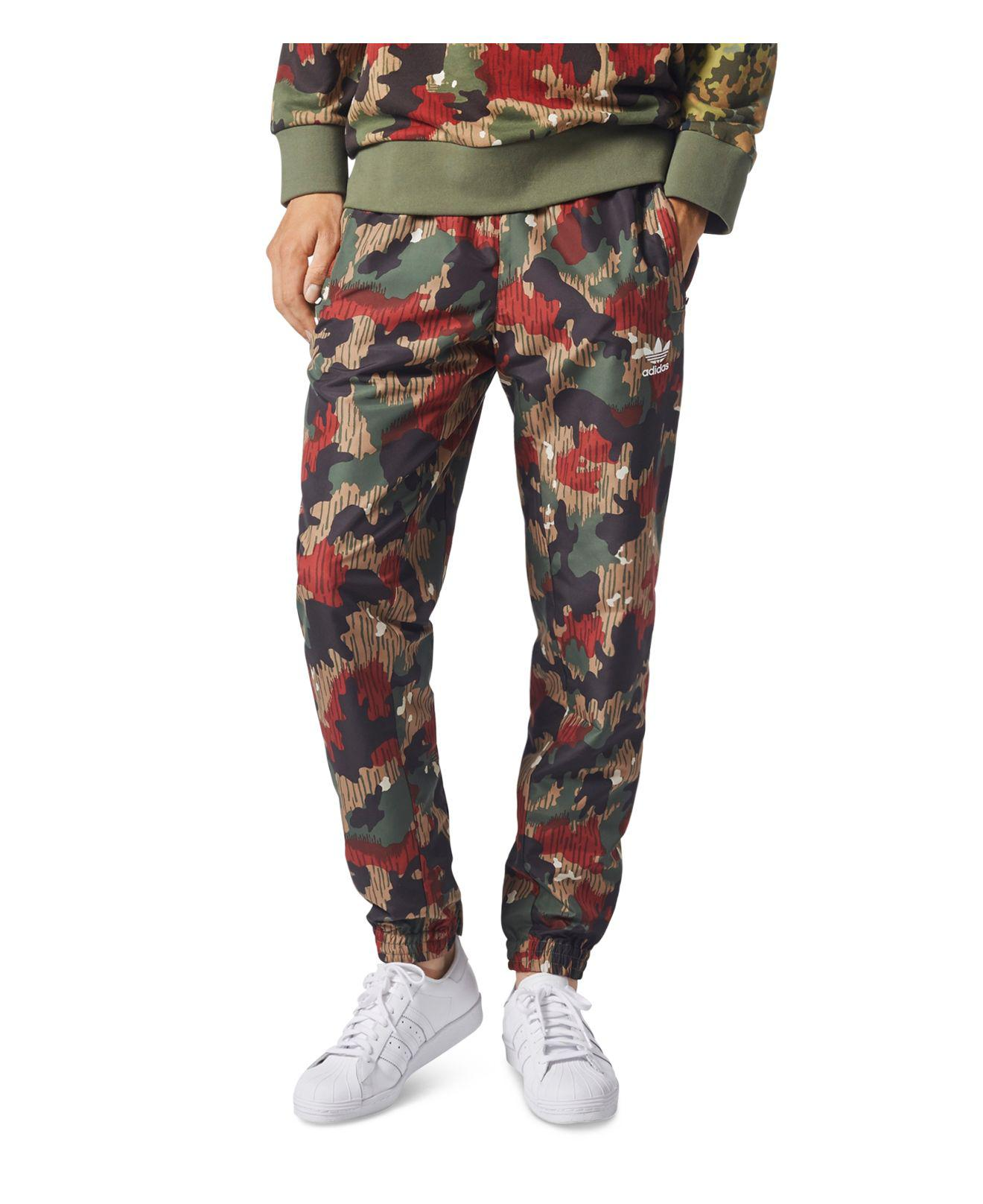 Adidas Originals - Multicolor X Pharrell Williams Hu Hiking Camouflage  Windpants for Men - Lyst. View fullscreen