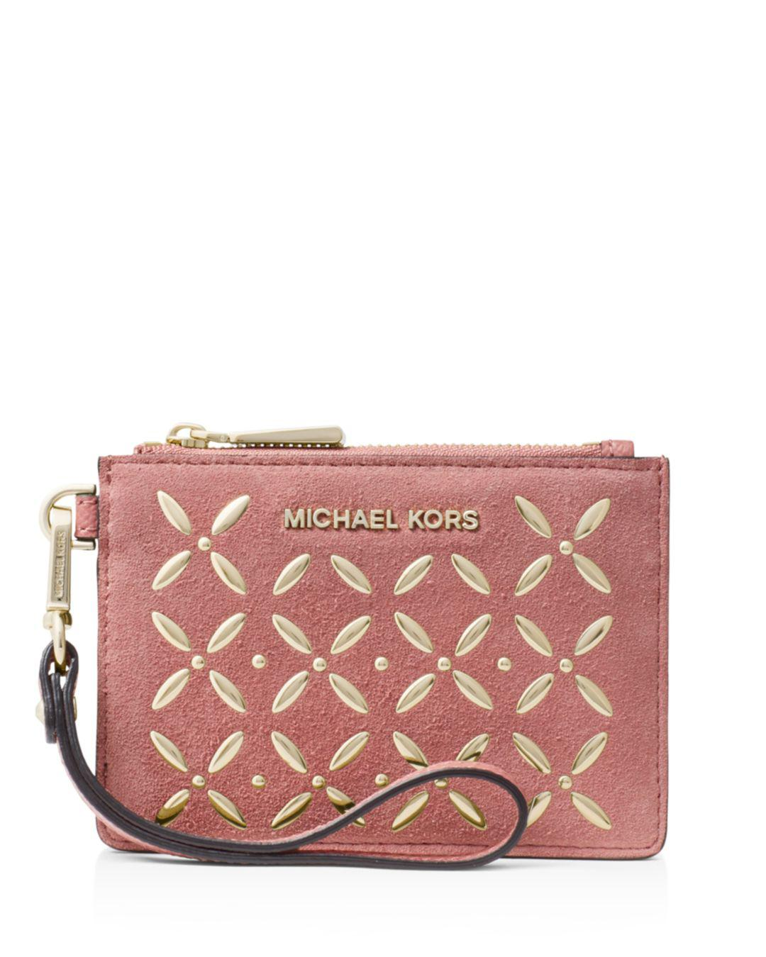 cfc8be87101b MICHAEL Michael Kors Hotfix Small Coin Purse in Pink - Lyst