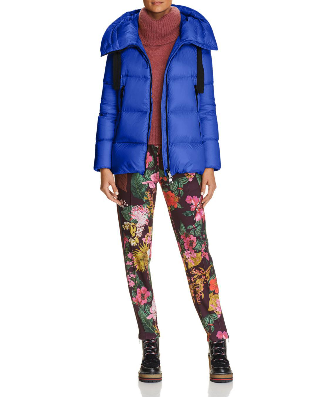 be89be973 Lyst - Moncler Serin Jacket in Blue