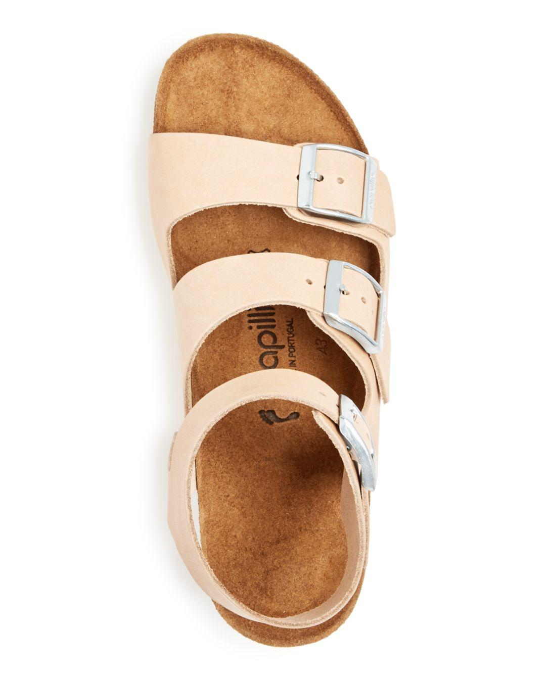d70e330c0062 Birkenstock - Natural Women s Papillio By Linnea Platform Wedge Sandals -  Lyst. View fullscreen