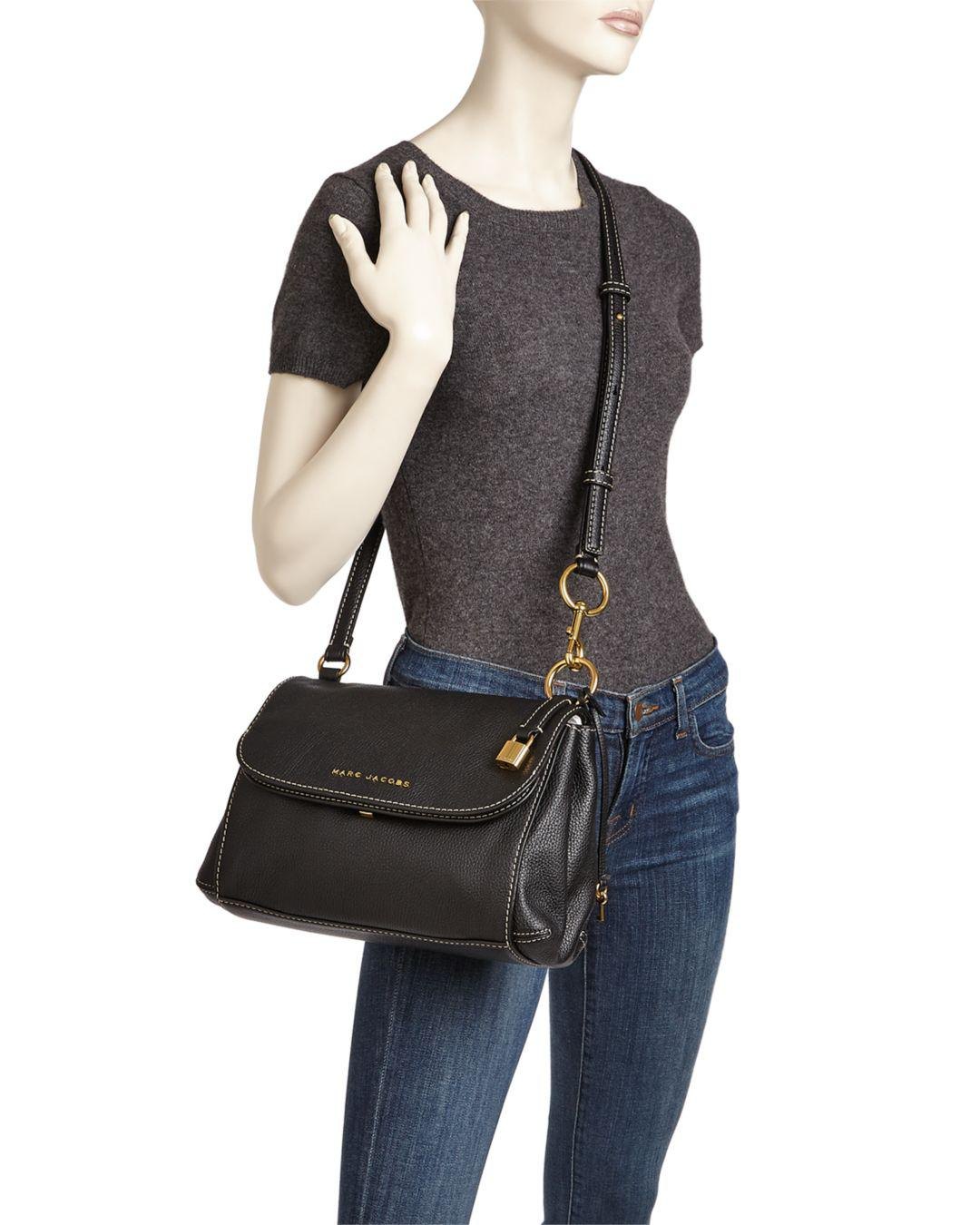 c05c23bd70ccc Lyst - Marc Jacobs The Boho Grind Leather Crossbody