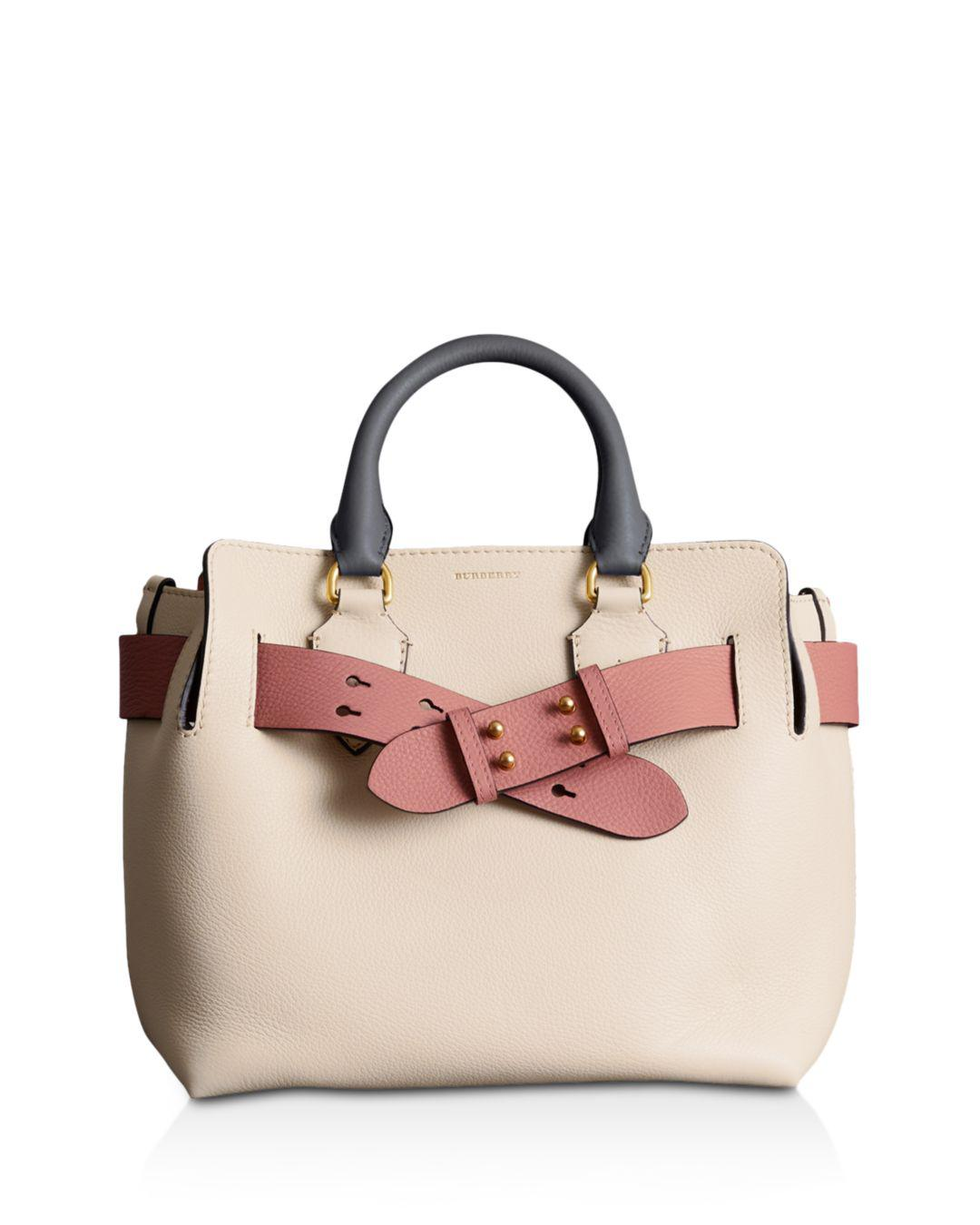 e0abc0ab47a Lyst - Burberry Tri-tone Small Leather Belt Bag