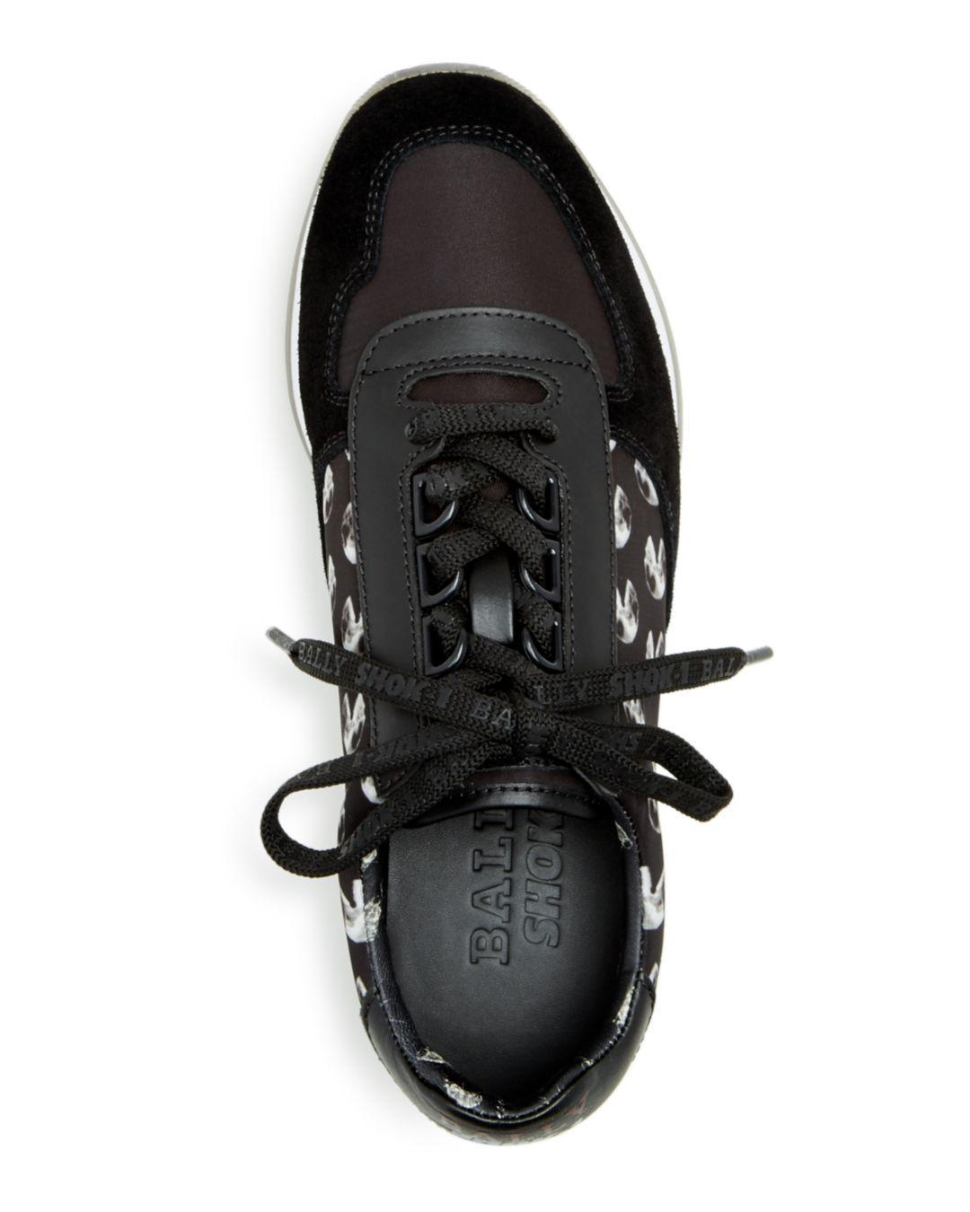 16c21bc22be Bally - Black X Swizz Beatz Women s Gavino The Consumer Low-top Sneakers -  Lyst. View fullscreen