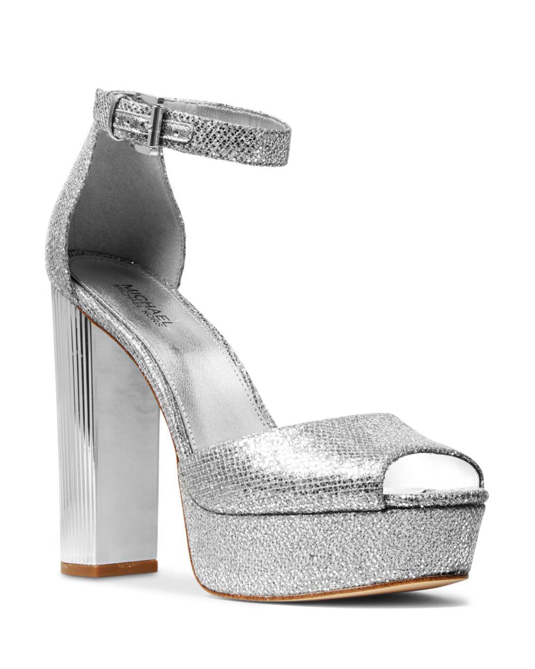 e4dd1c85a26a Lyst - MICHAEL Michael Kors Women s Paloma Platform Sandals in Metallic