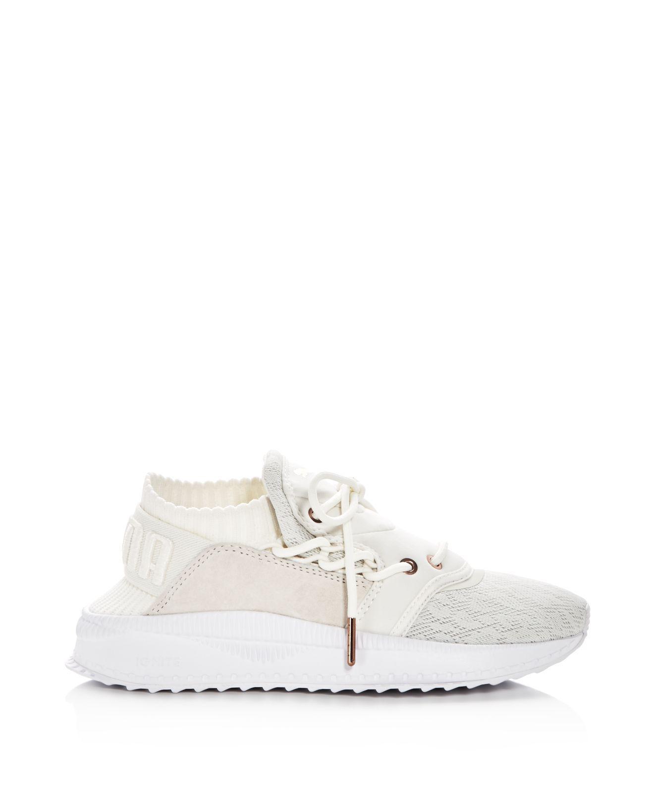 Lyst - PUMA Women s Tsugi Shinsei Lace Up Sneakers in White 15e3b86de