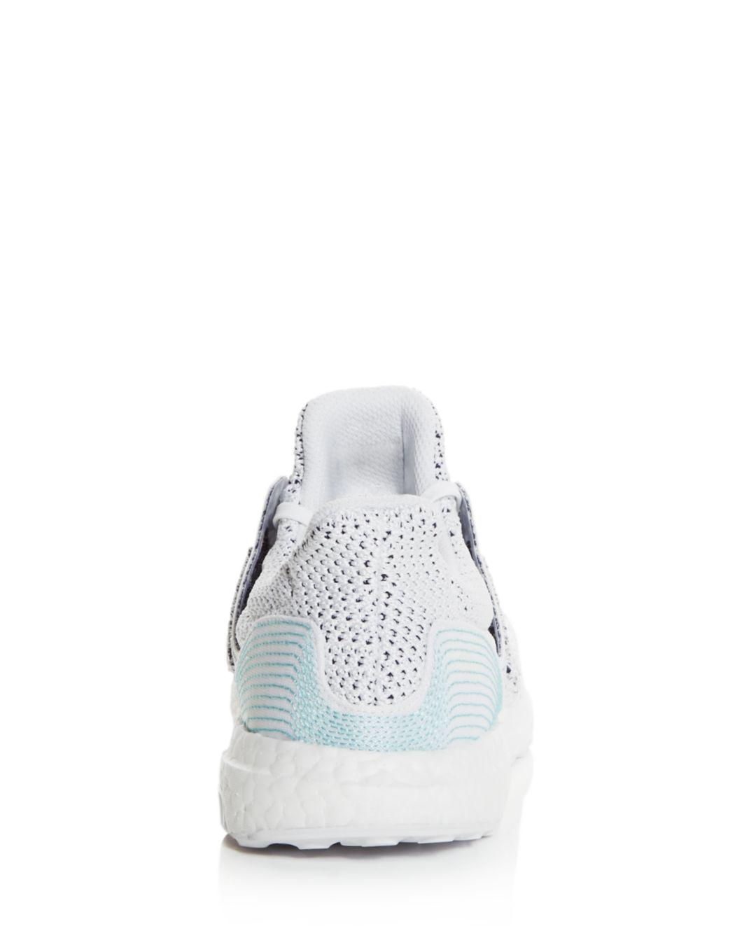 5b2fb6b89b273 Adidas - White Men s Ultraboost Parley Knit Lace Up Sneakers for Men -  Lyst. View fullscreen