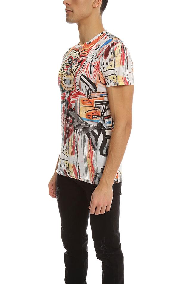 Lyst Eleven Paris Eleven Paris Basquiat 8 T Shirt For Men