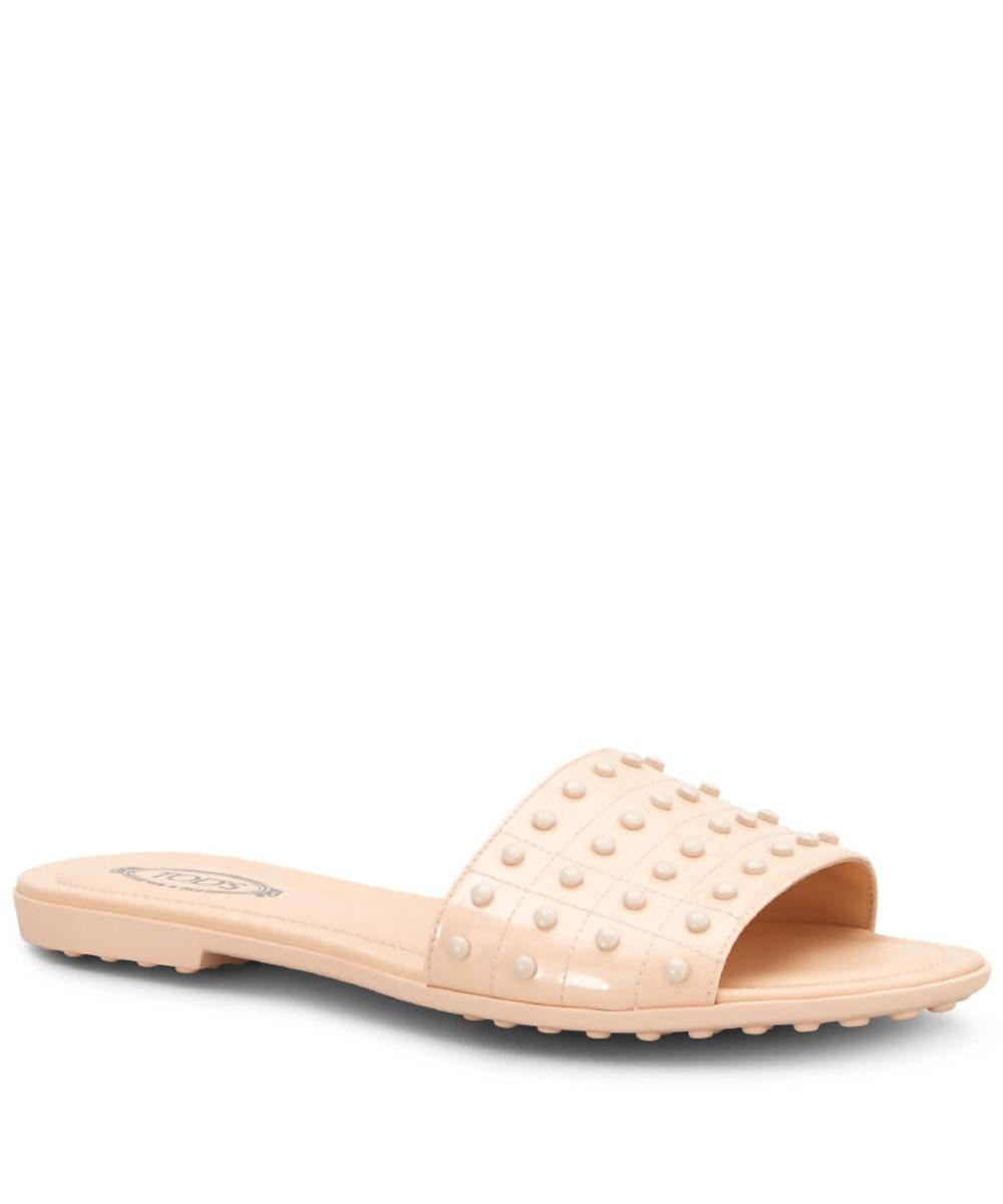 Women's Women's Women's Tod'S Lyst Leather Save Pink Pink Pink Pink in Sandals Pink Z7qU1Bqxw