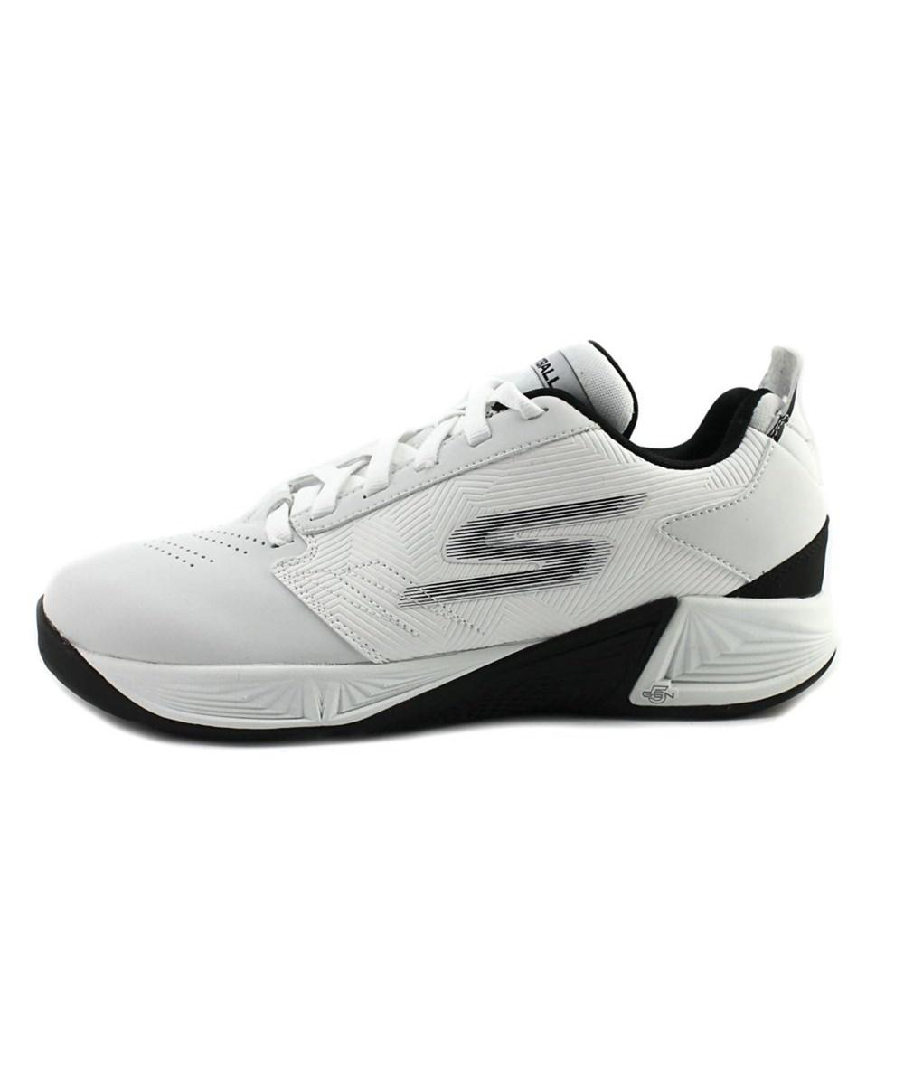 9e81c54aa549 Lyst - Skechers Gobasketball - Torch 2 Men Round Toe Synthetic White ...