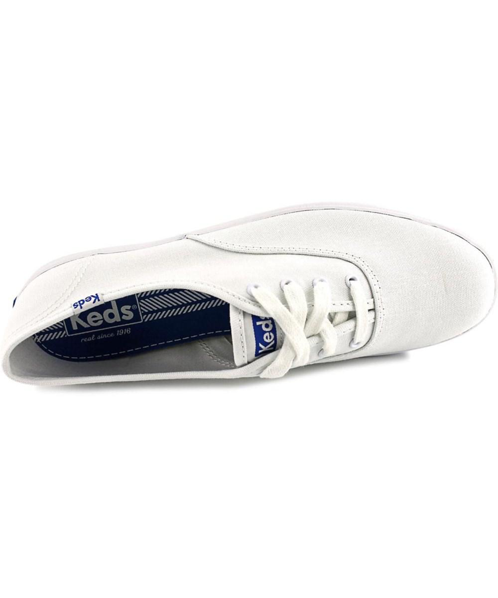 87c1022a96d Lyst - Keds Champion Oxford Cvo Women W Round Toe Canvas White ...