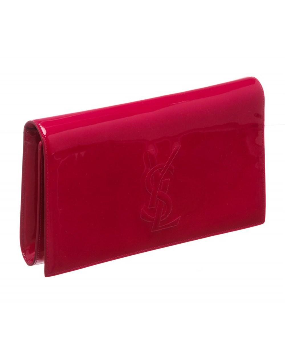 Pre-owned - Belle de Jour patent leather clutch bag Saint Laurent H9VGP