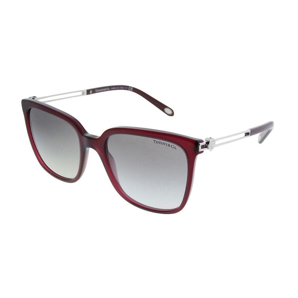 a2a535122d16 Lyst - Tiffany   Co Tf 4138 80033c 54mm Opal Dark Cherry Square ...