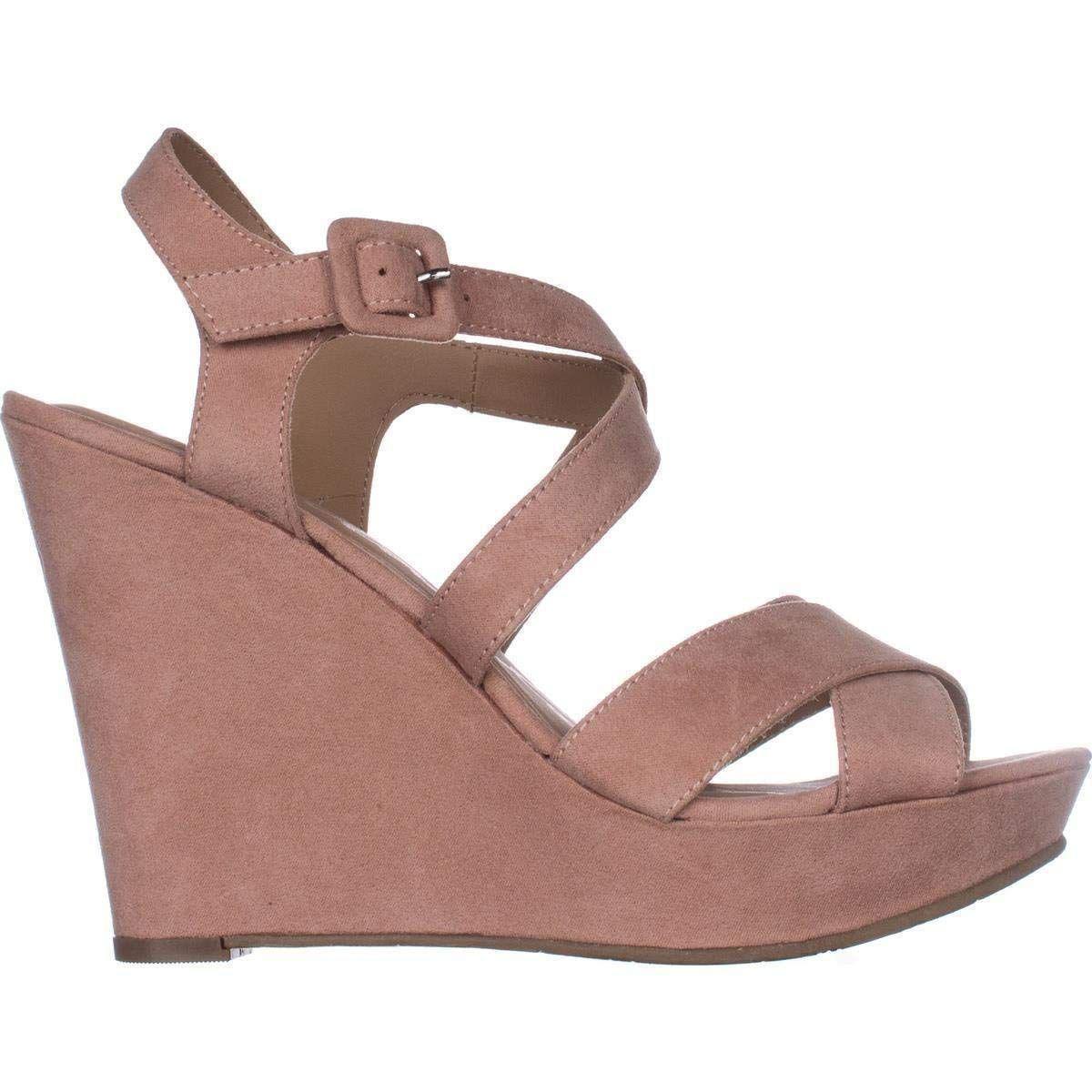 b0204b72332 American Rag - Brown Womens Rachey Peep Toe Casual Platform Sandals - Lyst.  View fullscreen