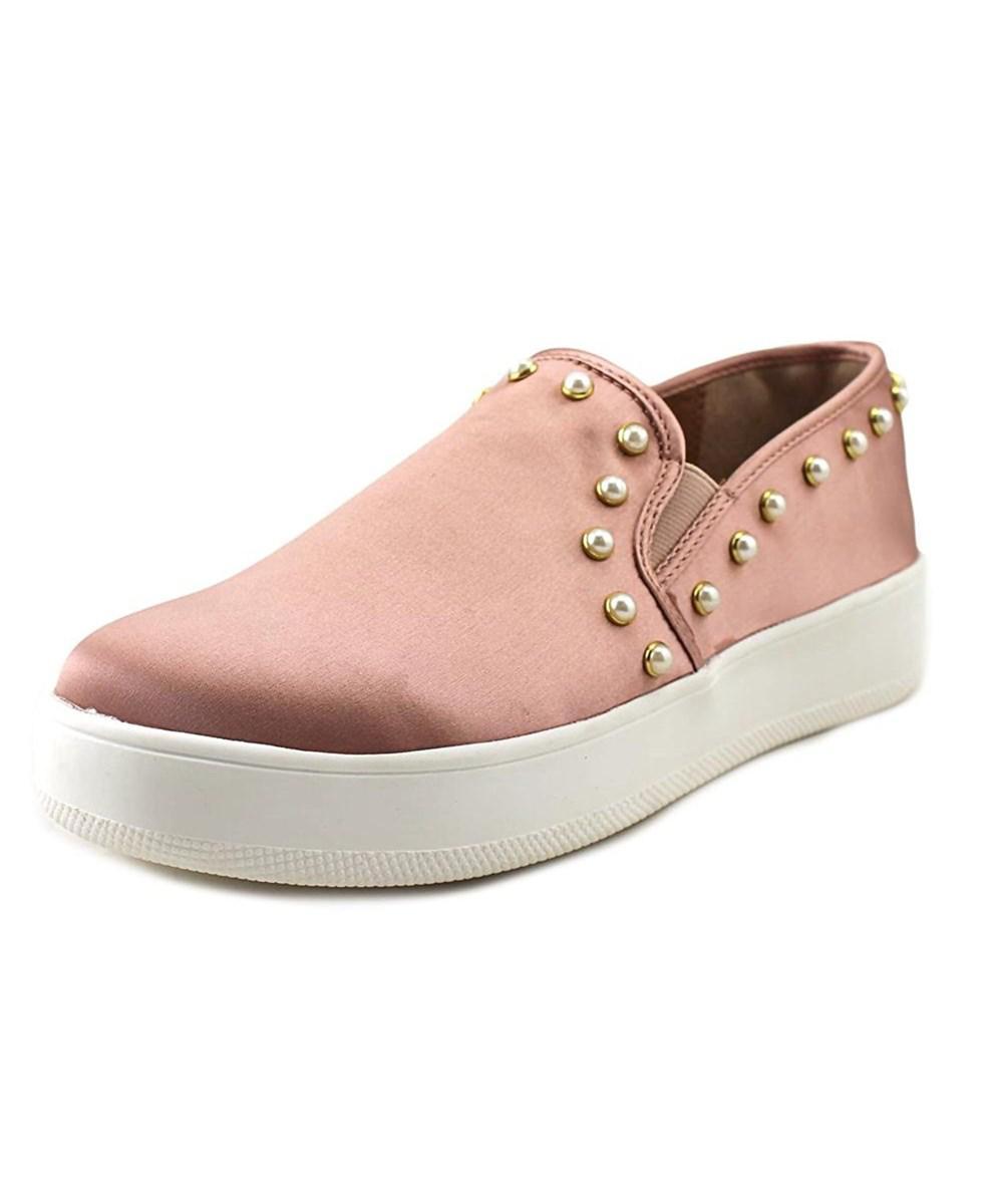 29ea96b0110 Lyst - Steve Madden Genette Women Canvas Pink Fashion Sneakers in ...