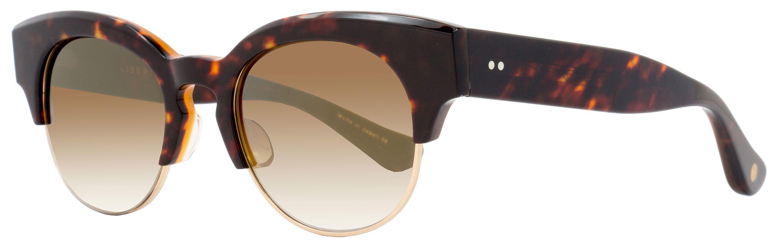 29cd765422a Lyst - Dita Oval Sunglasses 22026 Liberty B-trt-gld Tortoise gold 22026