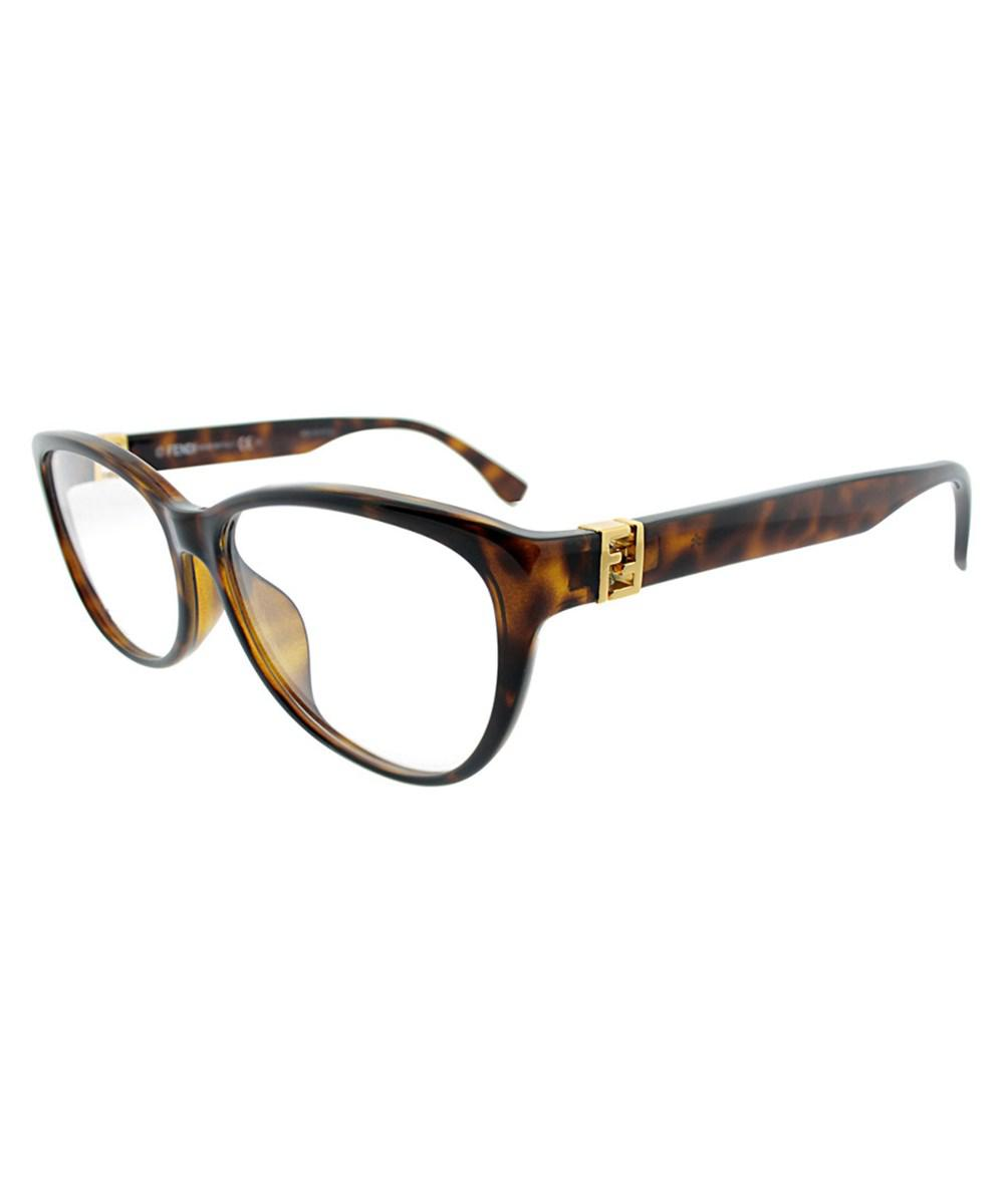 bc982a238397 Lyst - Fendi Women s 1005 54mm Optical Frames in Brown