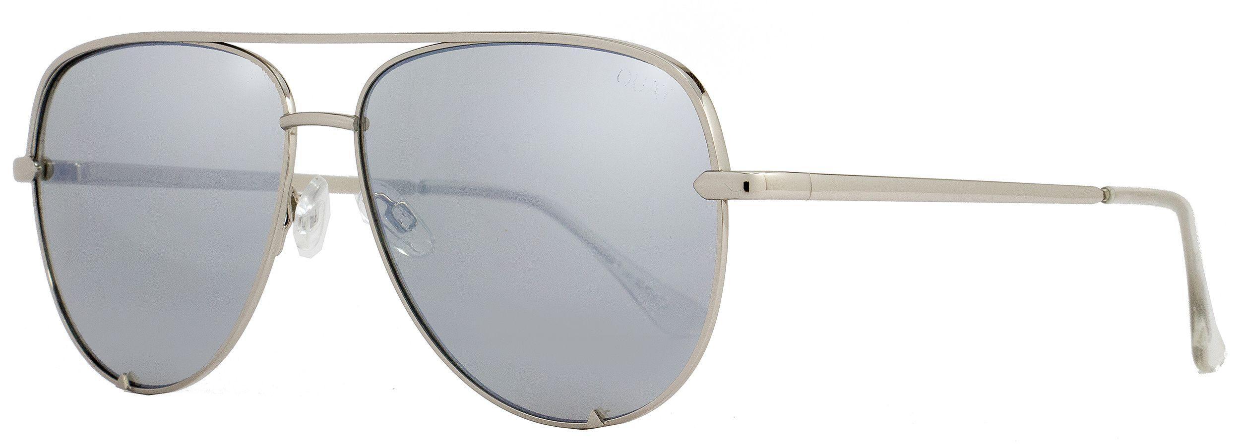 f04f2ac98d3d7 Lyst - Quay Aviator Sunglasses Qw000142 High Key Slv-slv Silver 142 ...