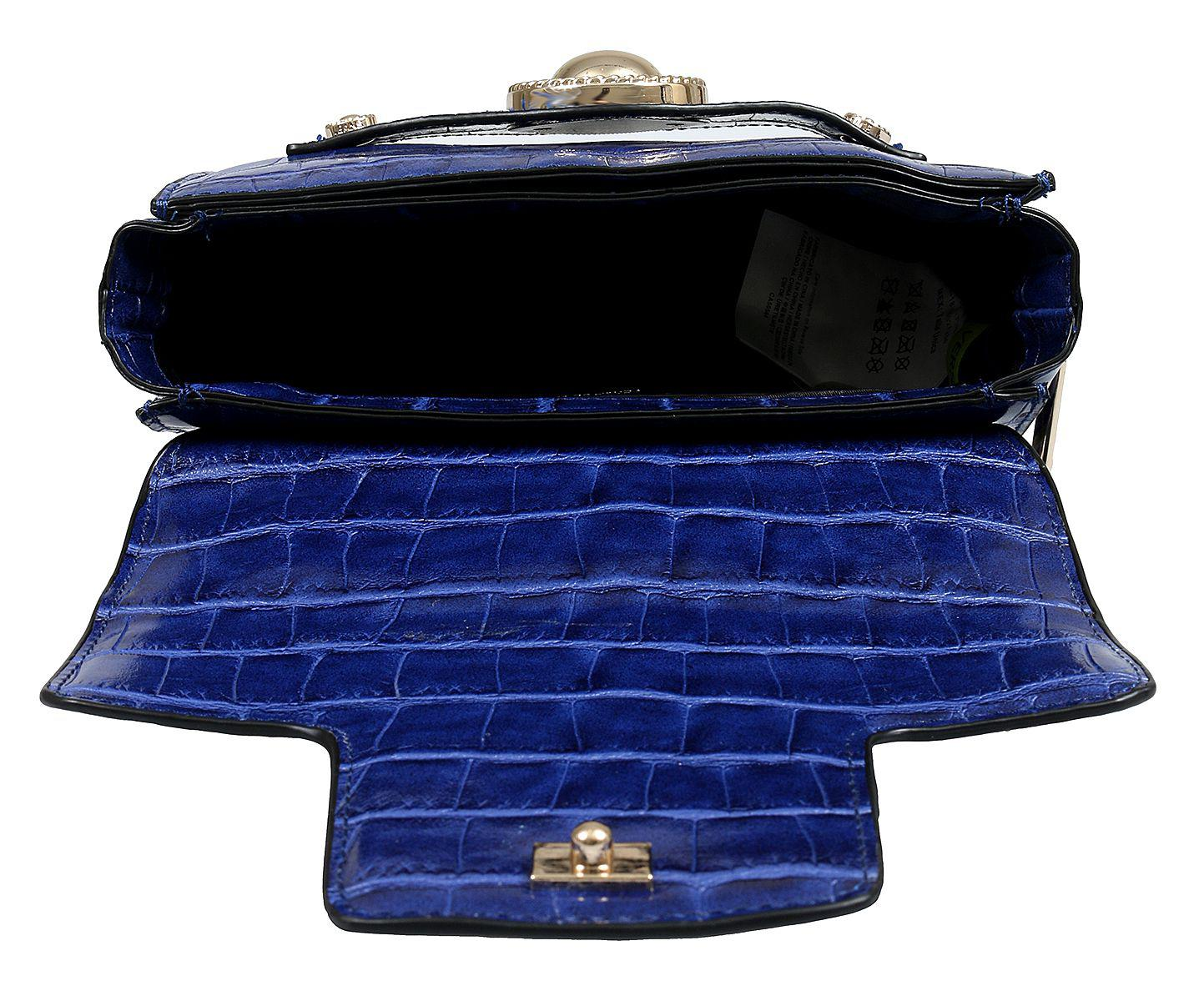 9f6e4b049771 Versace - Ee1vsbbo4 E240 Prussian Blue Shoulder Bag - Lyst. View fullscreen