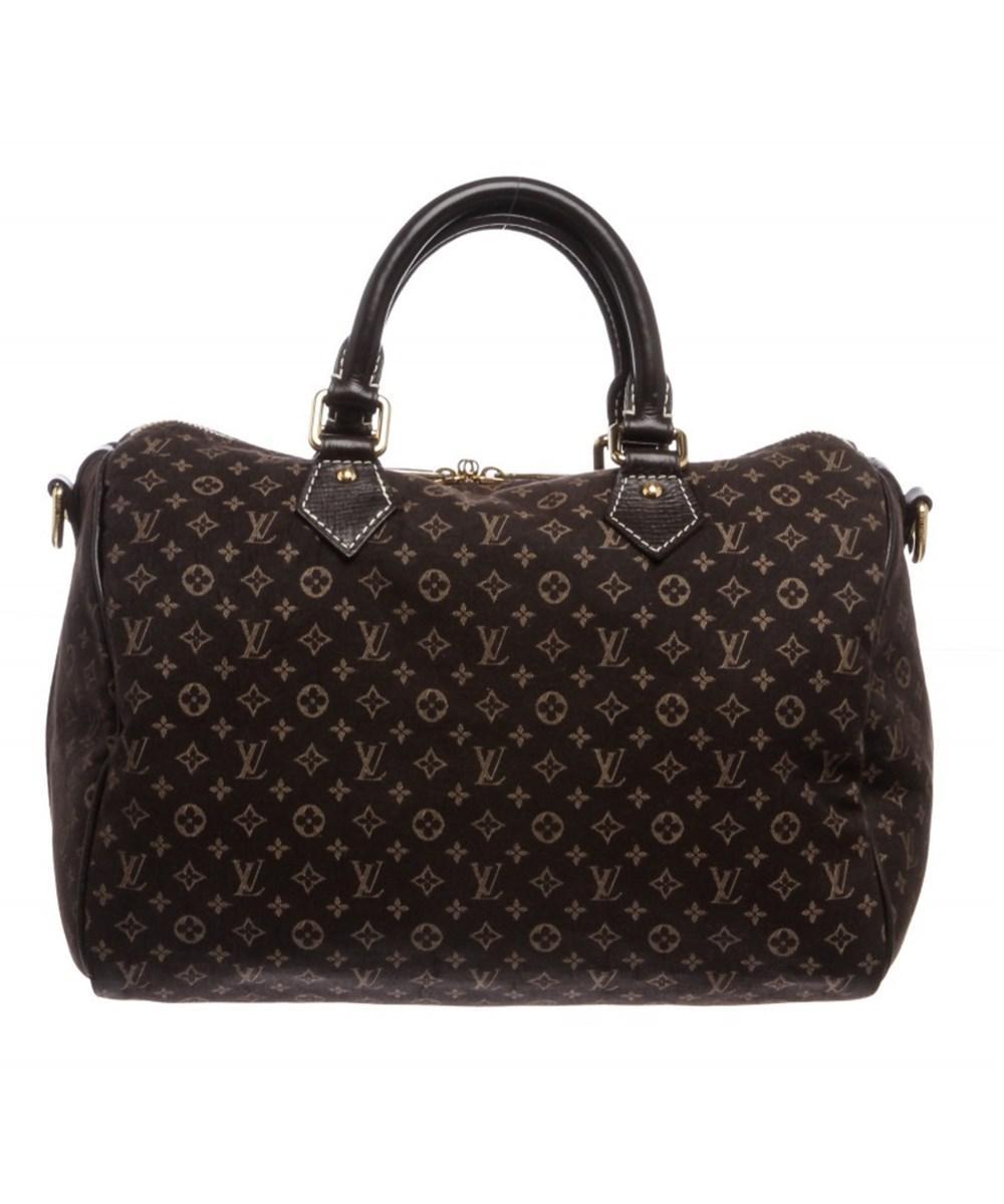 c4bd40101199 Lyst - Louis Vuitton Brown Idylle Speedy Bandouliere 30 Bag in Brown
