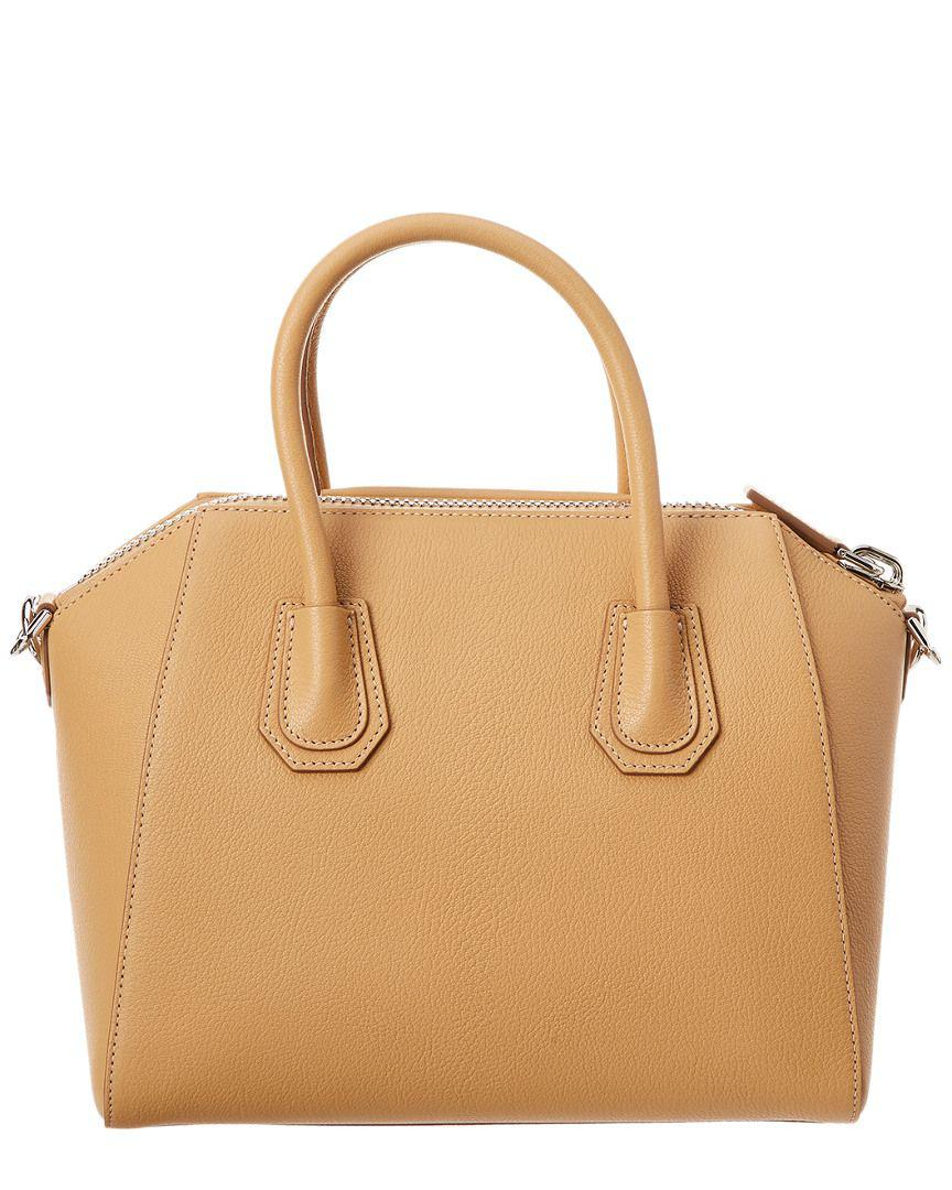 Lyst - Givenchy Small Antigona Leather Satchel 5f3a6b9b8c