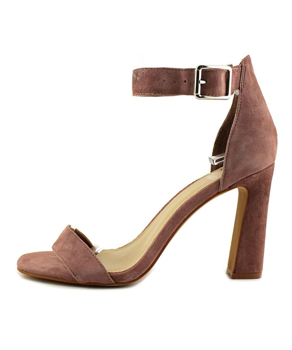 Lyst Vince Camuto Acelyn Women Open Toe Suede Pink Sandals In Catriona Rosy Shoulder Bag Maroon Gallery