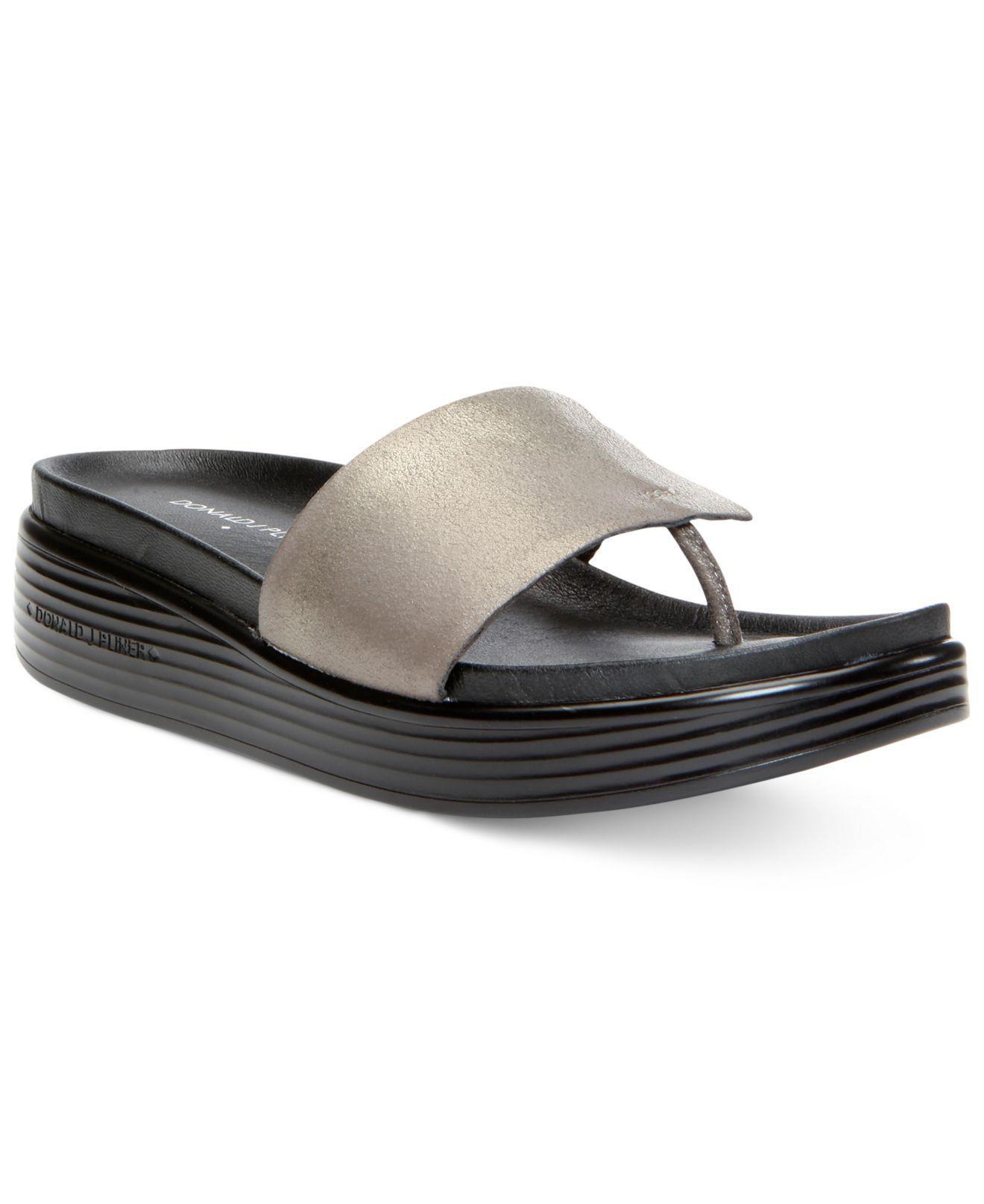 43c196c104e Donald J Pliner. Donald J Pliner Womens Fifi Leather Open Toe Casual Platform  Sandals