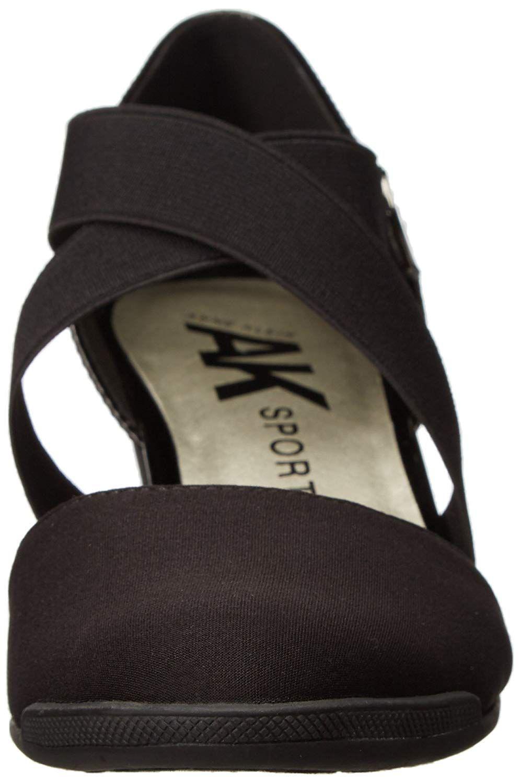 79efa83427b Lyst - Anne Klein Womens Teaberry Fabric Closed Toe Casual Platform ...