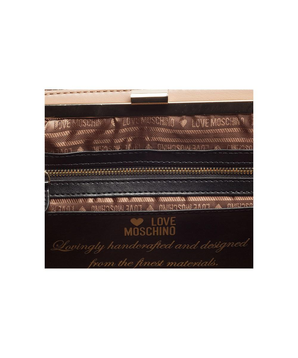 42380510af5 Lyst - Moschino Jc4114 0108 Turtle Dove Satchel/shoulder Bag in Brown