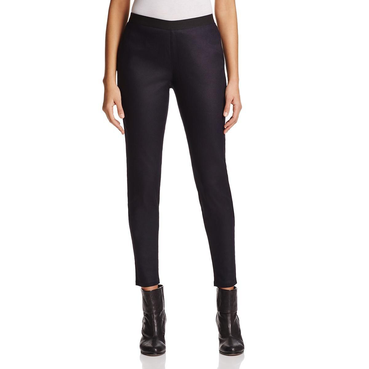 58de5740f8ccd Lyst - Eileen Fisher Womens Stretch Denim Leggings in Blue