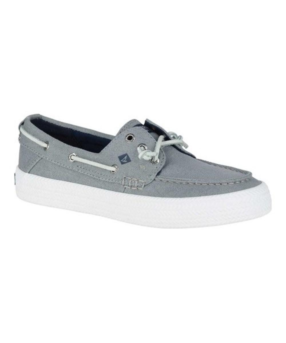 Crest Resort Washed Can. Grey, Womens Boat Sperry Top-Sider
