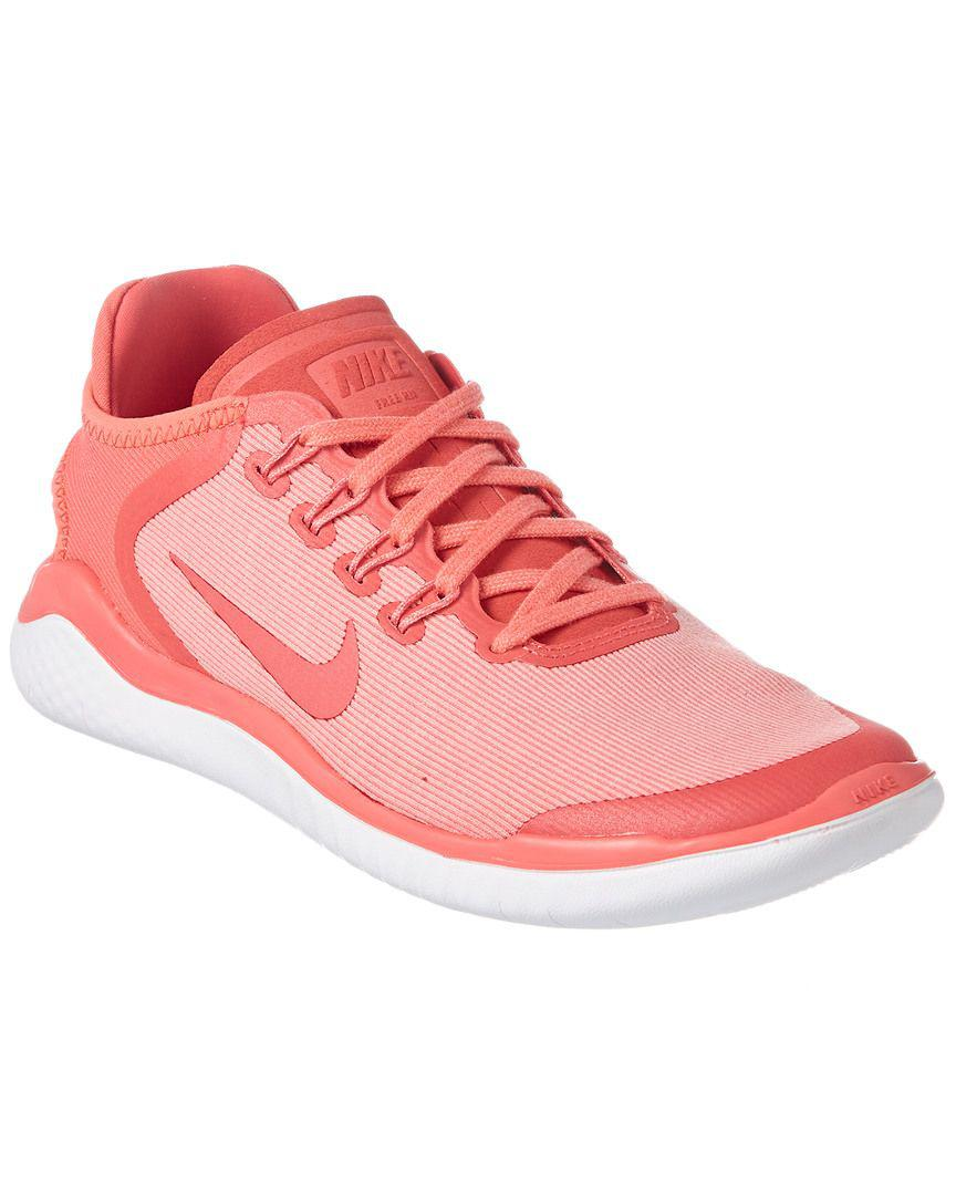 Lyst Nike Womens Free Rn 2018 Running Shoe In Pink Women Zoom Span Shoes