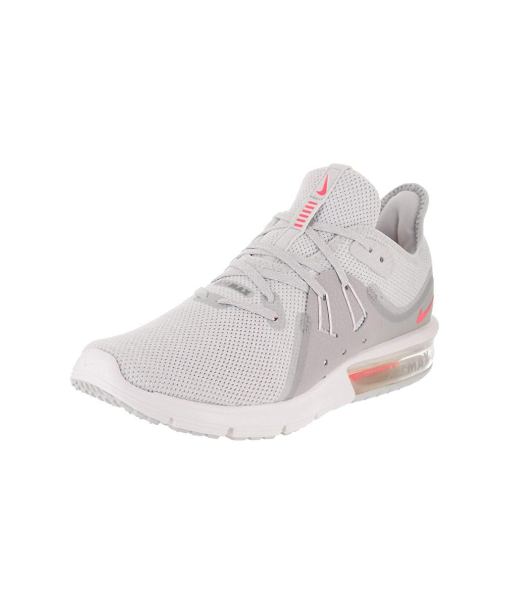 0dca6b84d7 Lyst - Nike Womens Air Max Sequent 3 Low Top Lace Up Running Sneaker ...