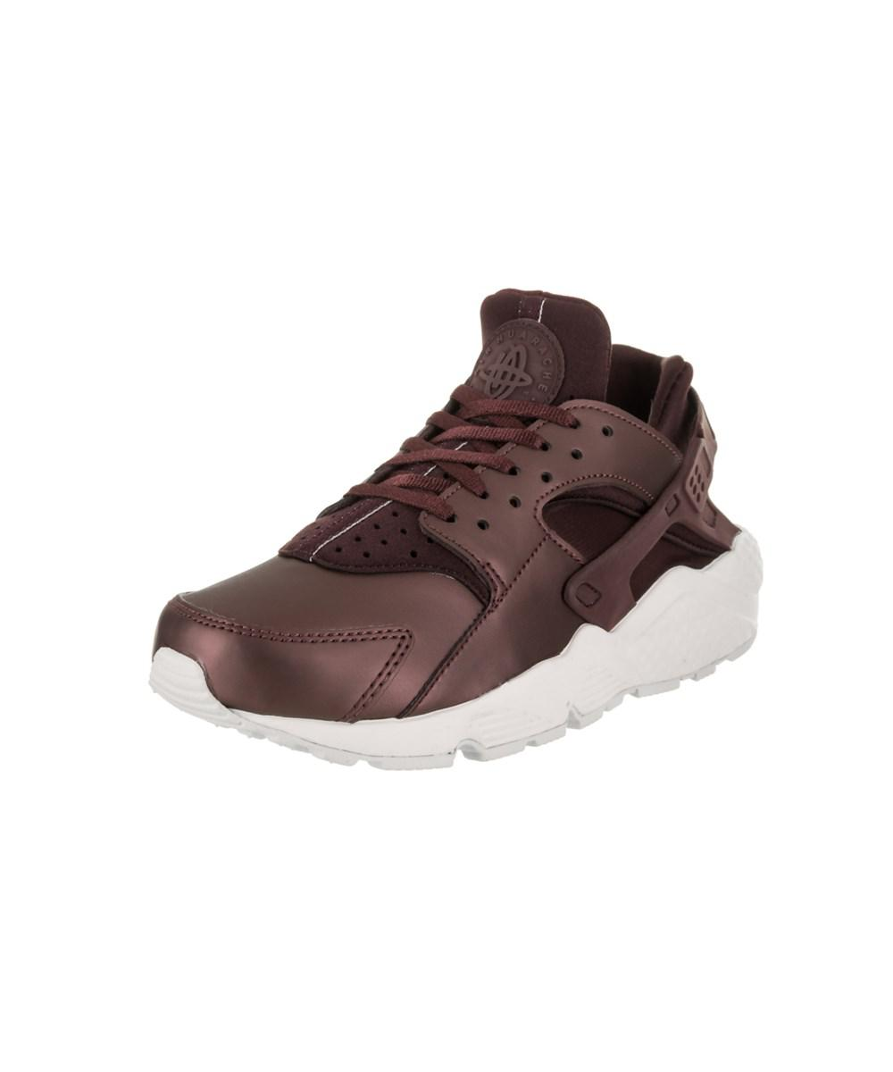 free shipping 496c0 5602f Nike. Brown Women s Air Huarache Run Prm Txt Running Shoe