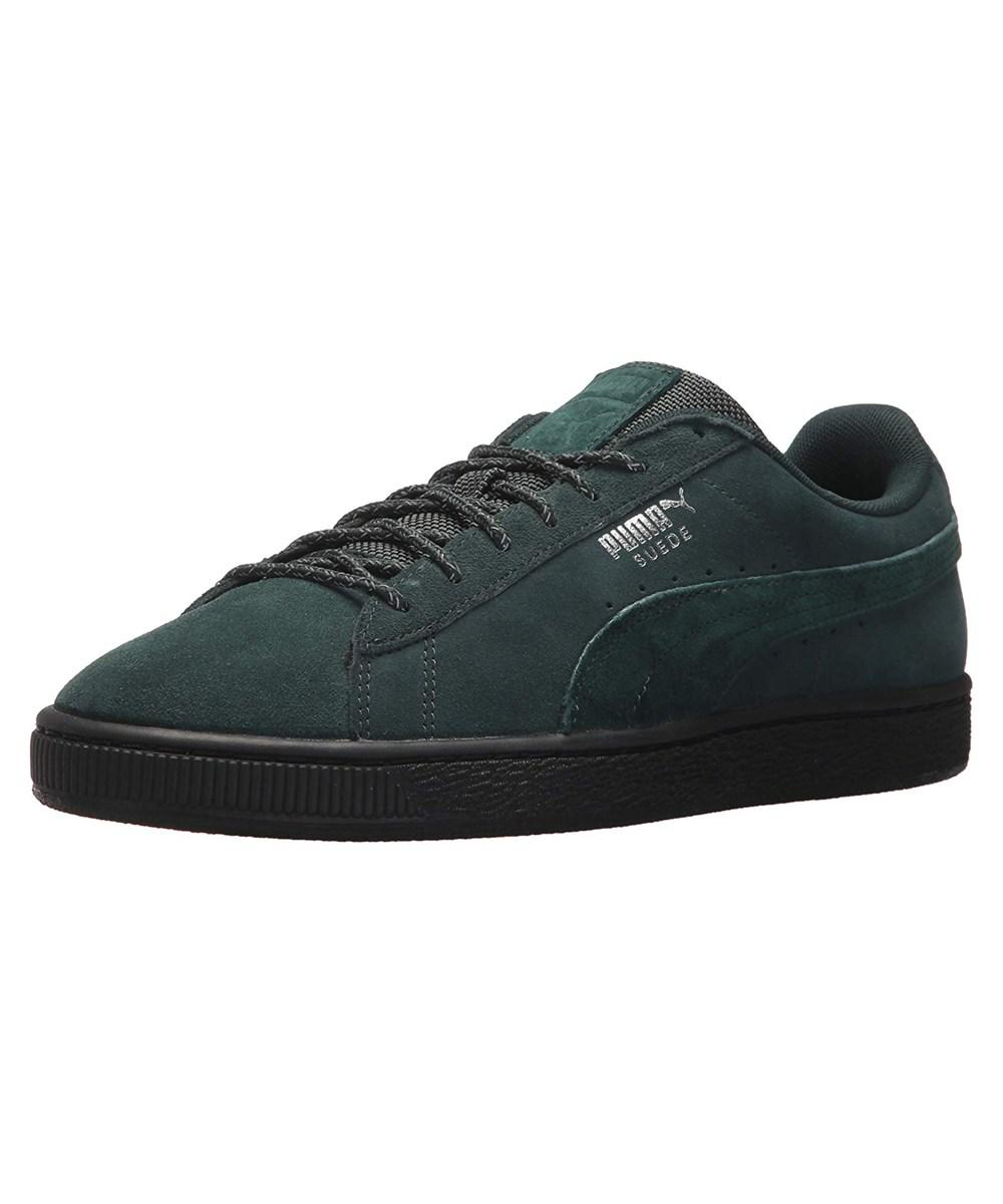 153896995c60 Lyst - Puma Men s Suede Classic Weatherproof Sneaker in Green for Men