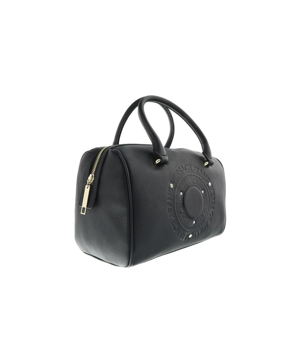 281e92c5077a Lyst - Versace Ee1vobba5 E899 Black Top Handle Bag in Black