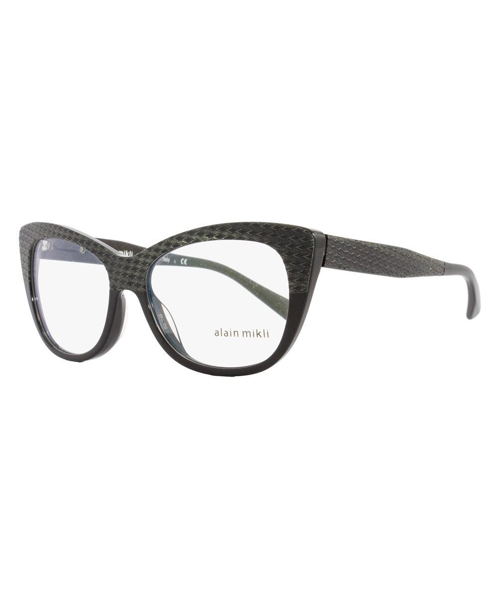915b4740abc ... Cateye Eyeglasses A01346m B0j2 Size  52mm Black 1346m - Lyst. View  fullscreen