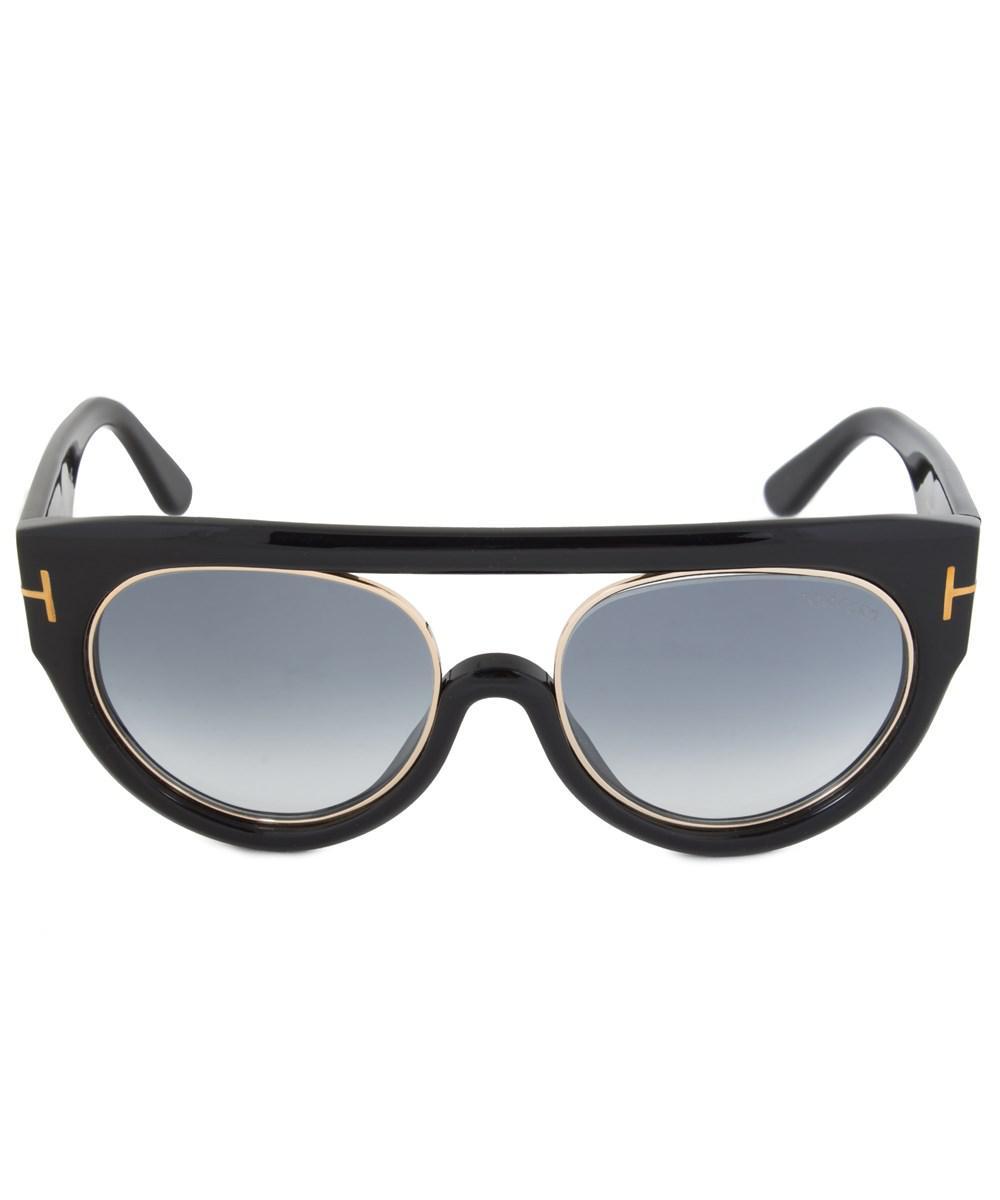 25f5918b8011 Lyst - Tom Ford Alana Sunglasses Ft0360 01b