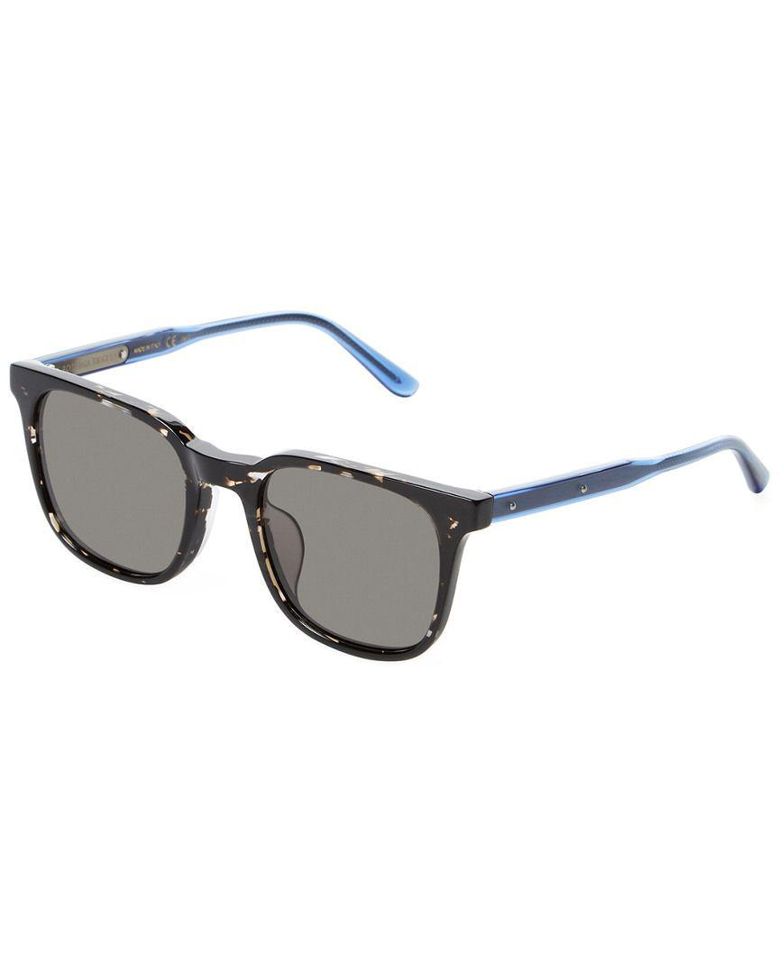 fd443388 Lyst - Bottega Veneta Bicolor Acetate Wayfarer Frame in Black for Men
