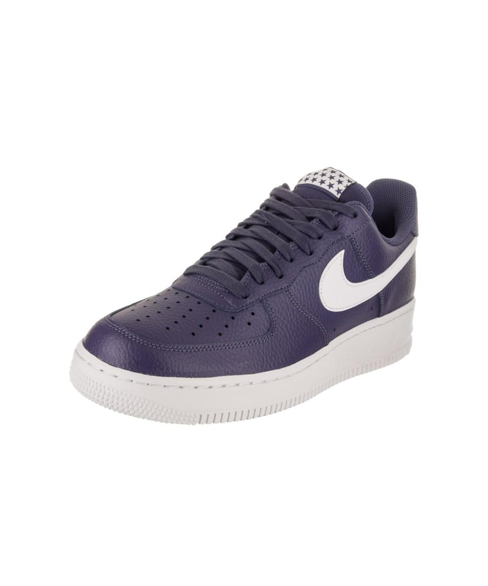 ea651bf64ce4ee Lyst - Nike Men s Air Force 1  07 Basketball Shoe in Blue for Men