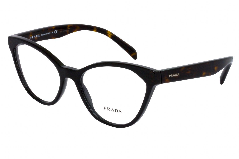 c64ac92620fa Lyst - Prada Sport Pr02tv Cat Eye Women Eyeglasses Black demo Lens ...
