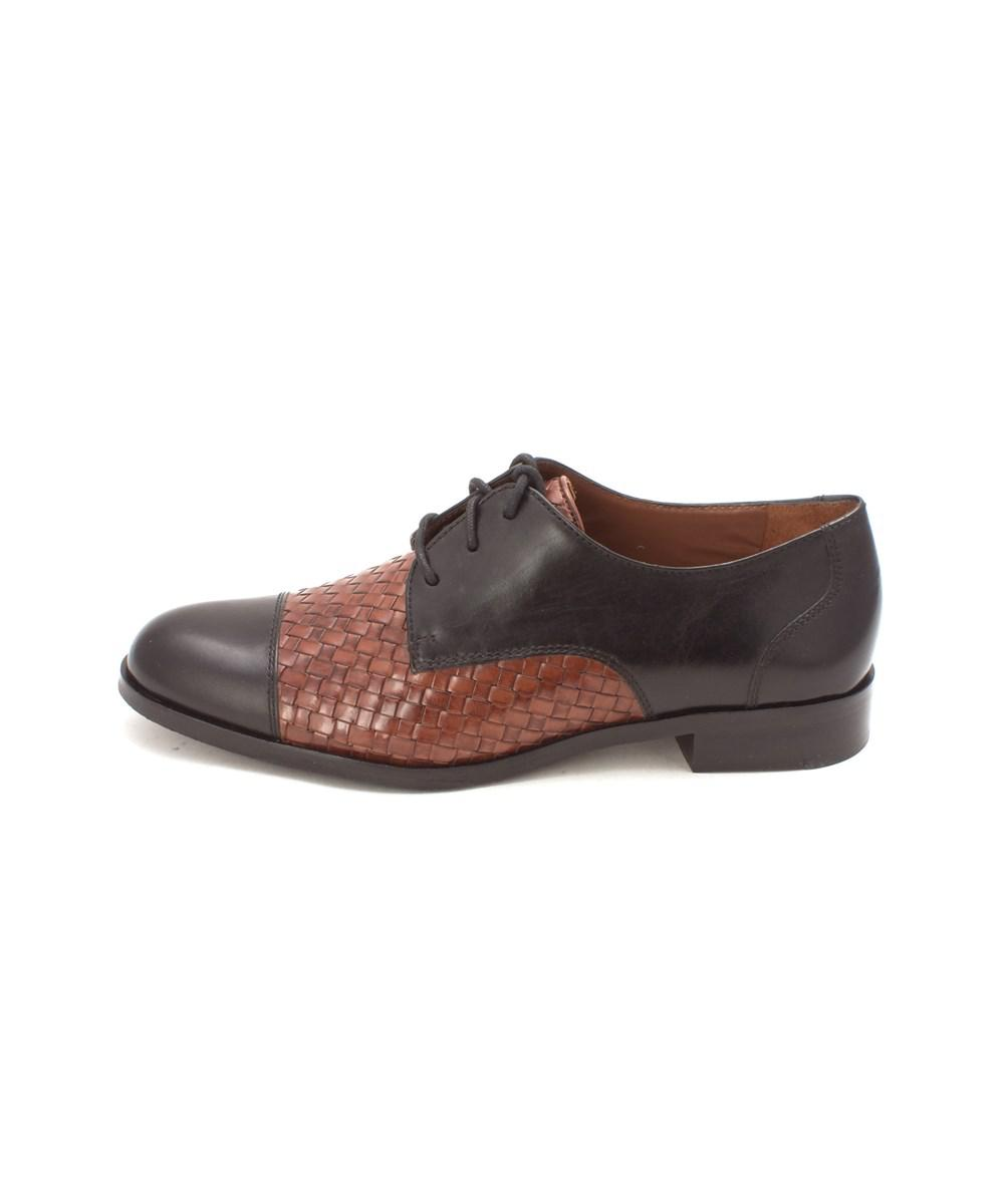 f6de2b2a5f3 Lyst - Cole Haan Womens Jagger Weave Oxford Closed Toe Oxfords in ...