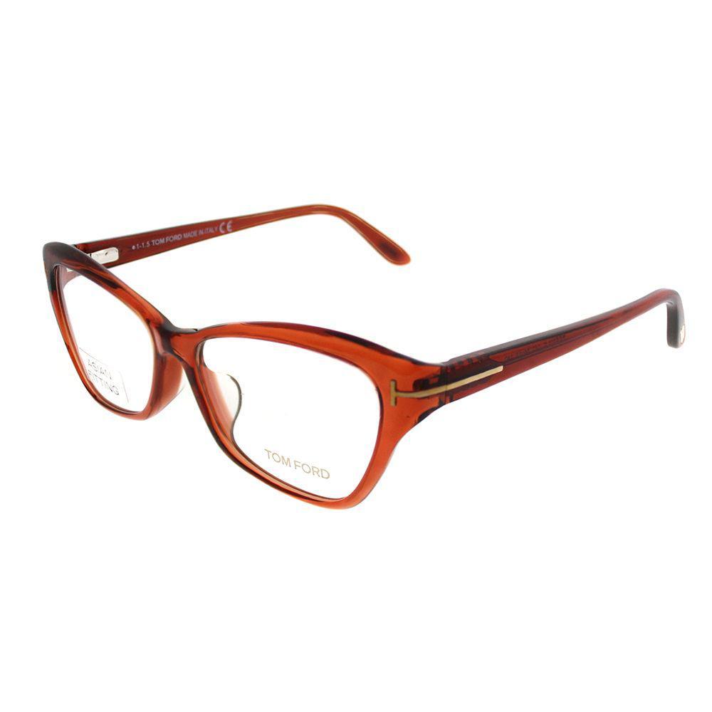 dfbbe26602 Tom Ford - Ft 5376 042 54mm Opal Brown Cat-eye Eyeglasses - Lyst. View  fullscreen