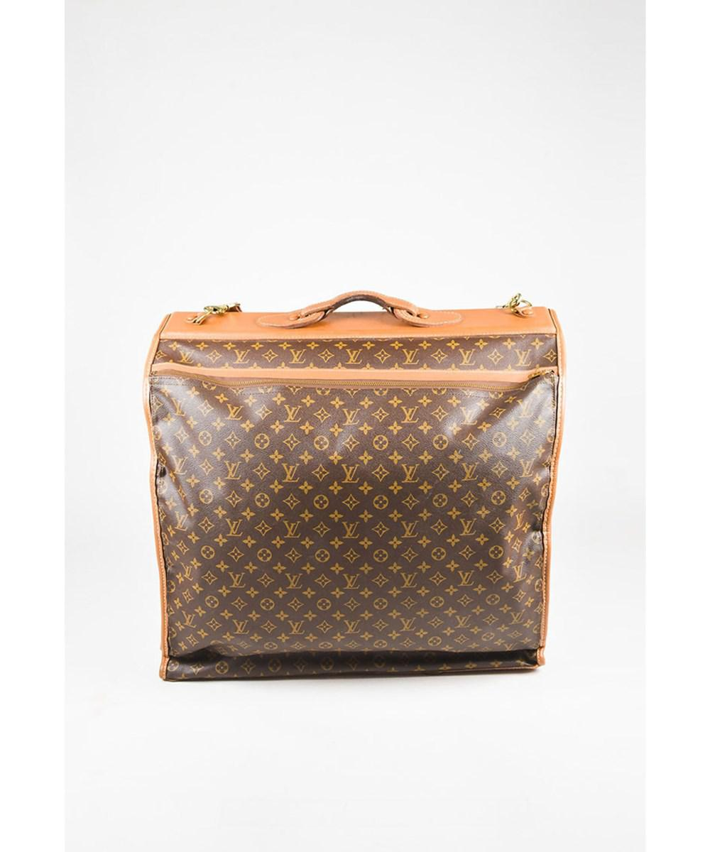 f465106c5489 Louis Vuitton 1 The French Luggage Company Vintage Coated Canvas