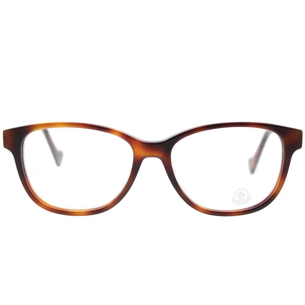 352000c5d11c Lyst - Moncler Ml 5014 052 Dark Havana Cat-eye Eyeglasses in Brown