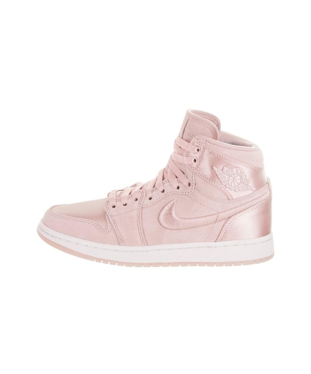 e54f465023a595 Lyst - Jordan Nike Women s 1 Retro High Soh Casual Shoe in Red