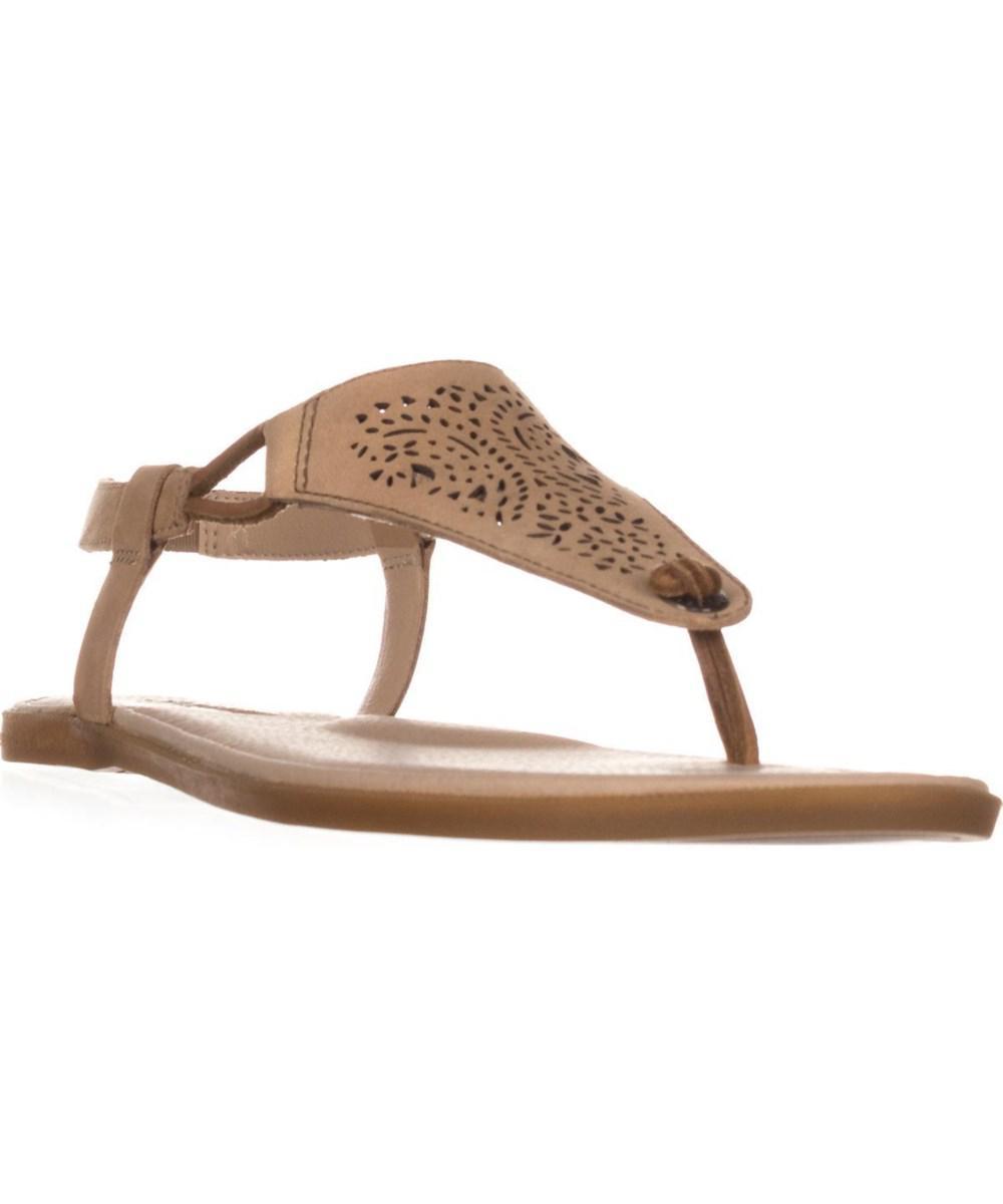 80143e948777 Lyst - Sperry Top-Sider Calla Jade Flat Thong Sandals