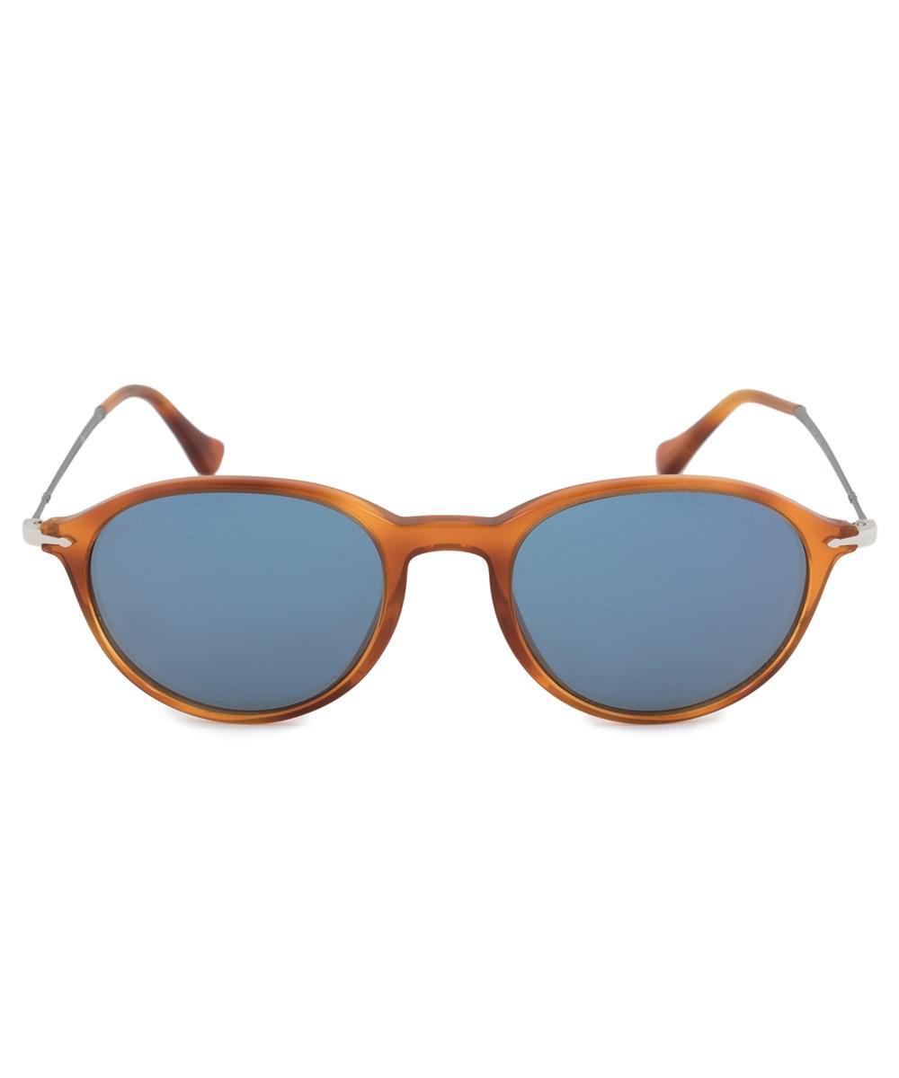 Persol PO3125S Sonnenbrille Orange / Tortoise 96/56 51mm BO7fm
