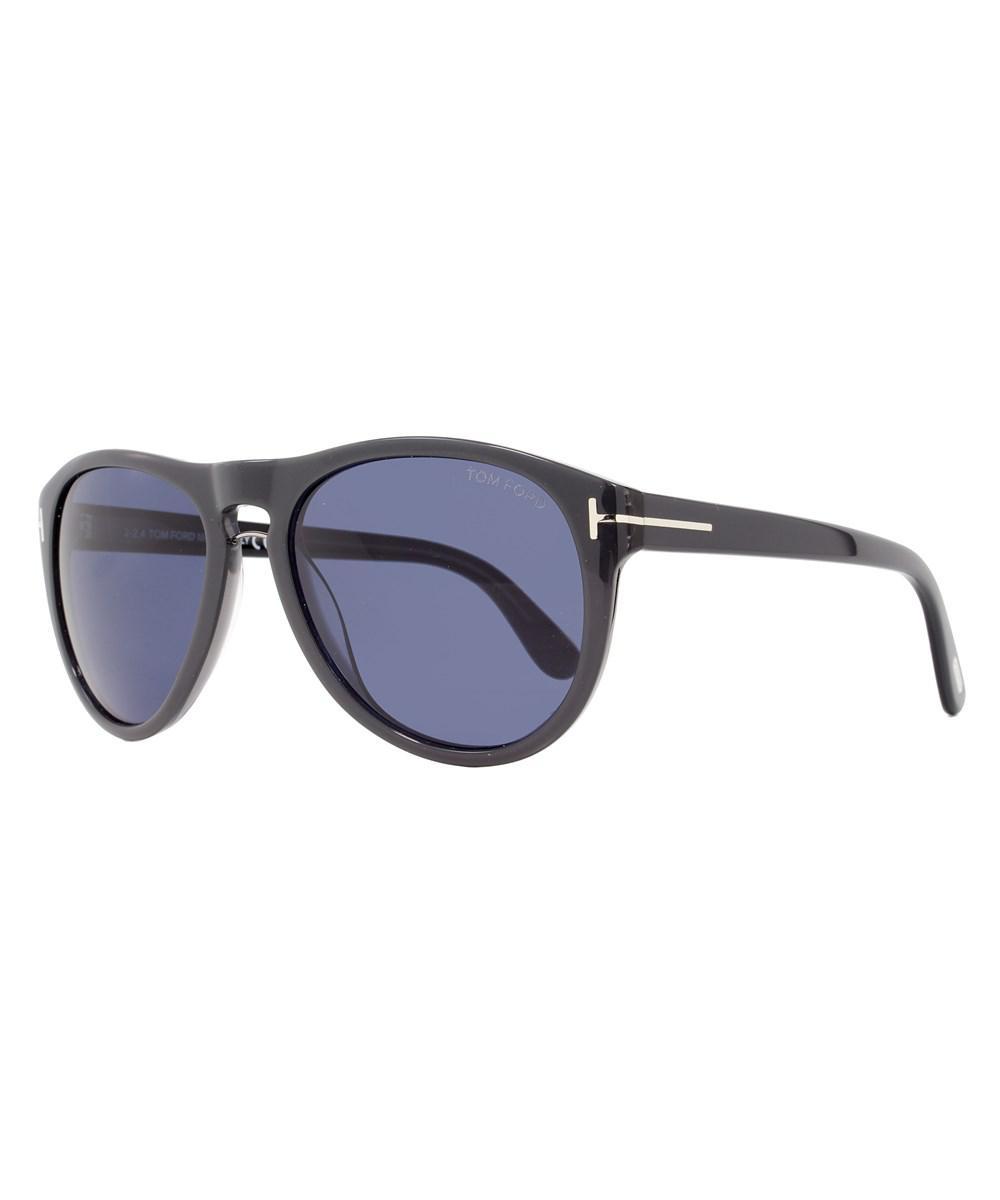 ef1068317948 Lyst - Tom Ford Oval Sunglasses Tf347 Kurt 50j Gray 347 in Gray