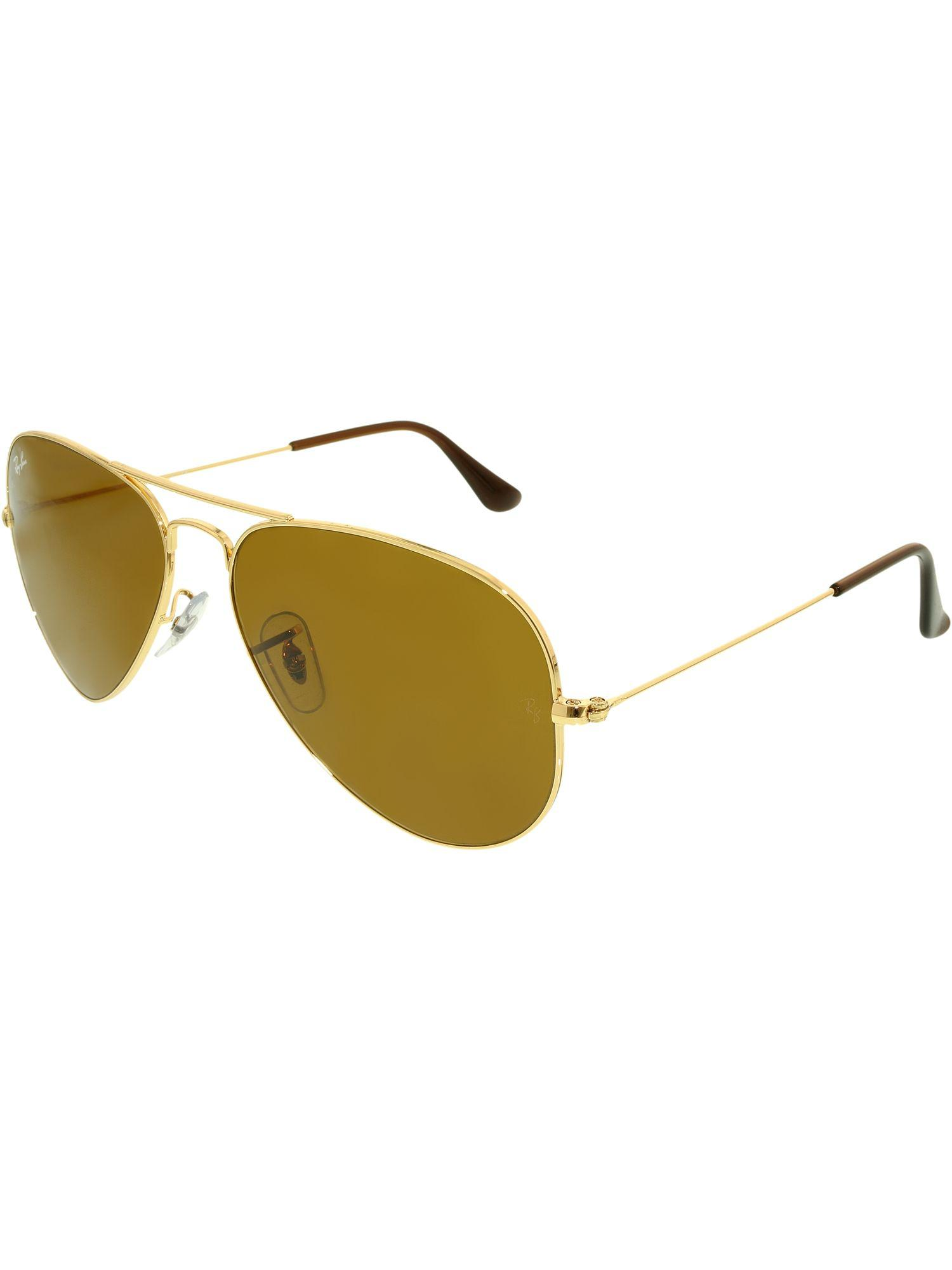 53819f4883 Lyst - Ray-Ban Men s Aviator Rb3025-001 33-58 Gold Sunglasses in ...