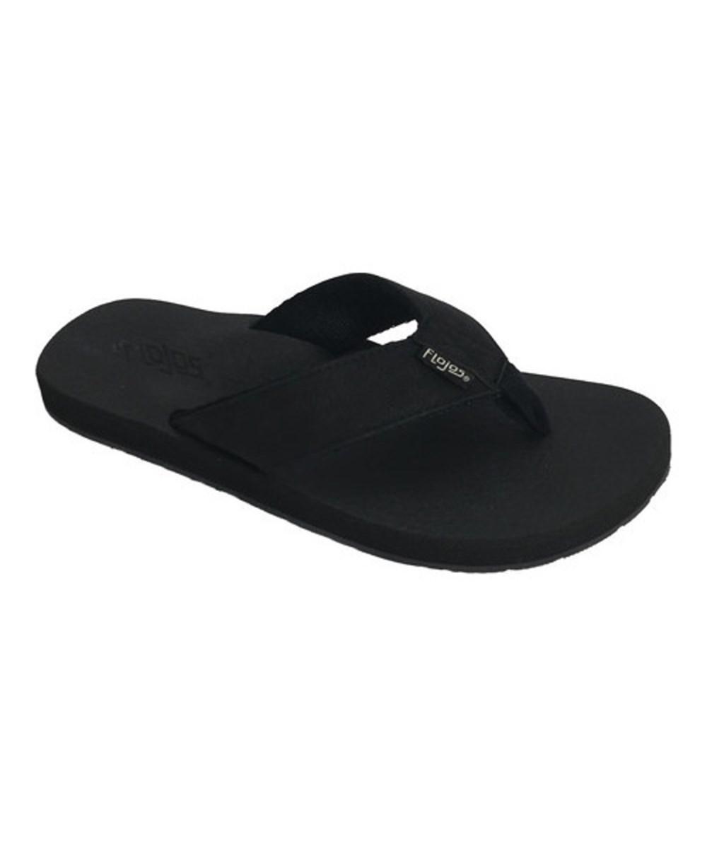 Flojos Chase Flip Flop(Men's) -Navy/Charcoal Polyurethane Cheap Store y48AcE9